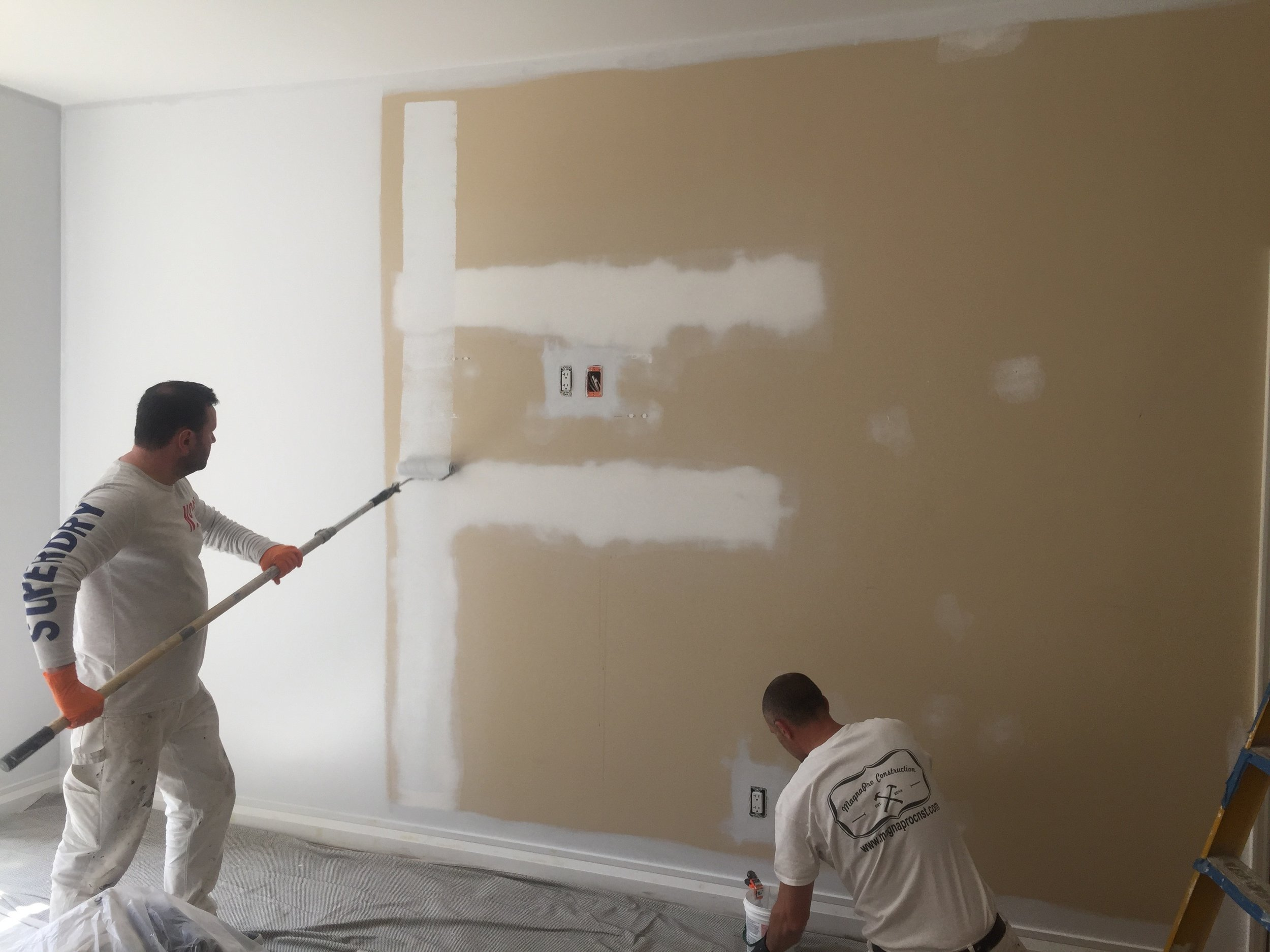 Our expert crew are finishing painting a residence in NYC