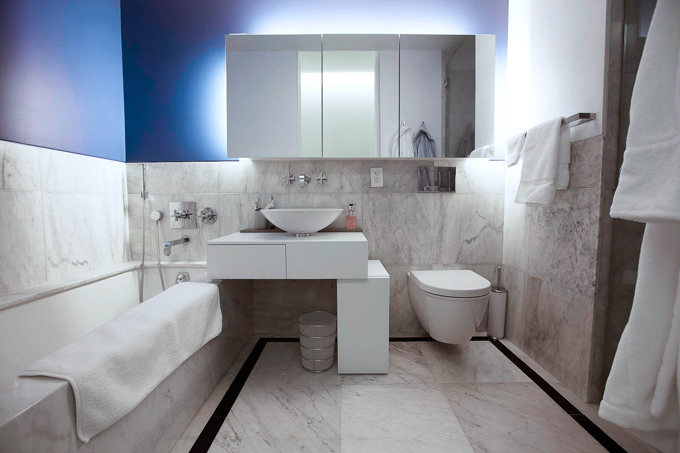 Designed by NYC's best architects and executed by MagnaPro Construction 0 these bathroom renovations use only top of the line materials
