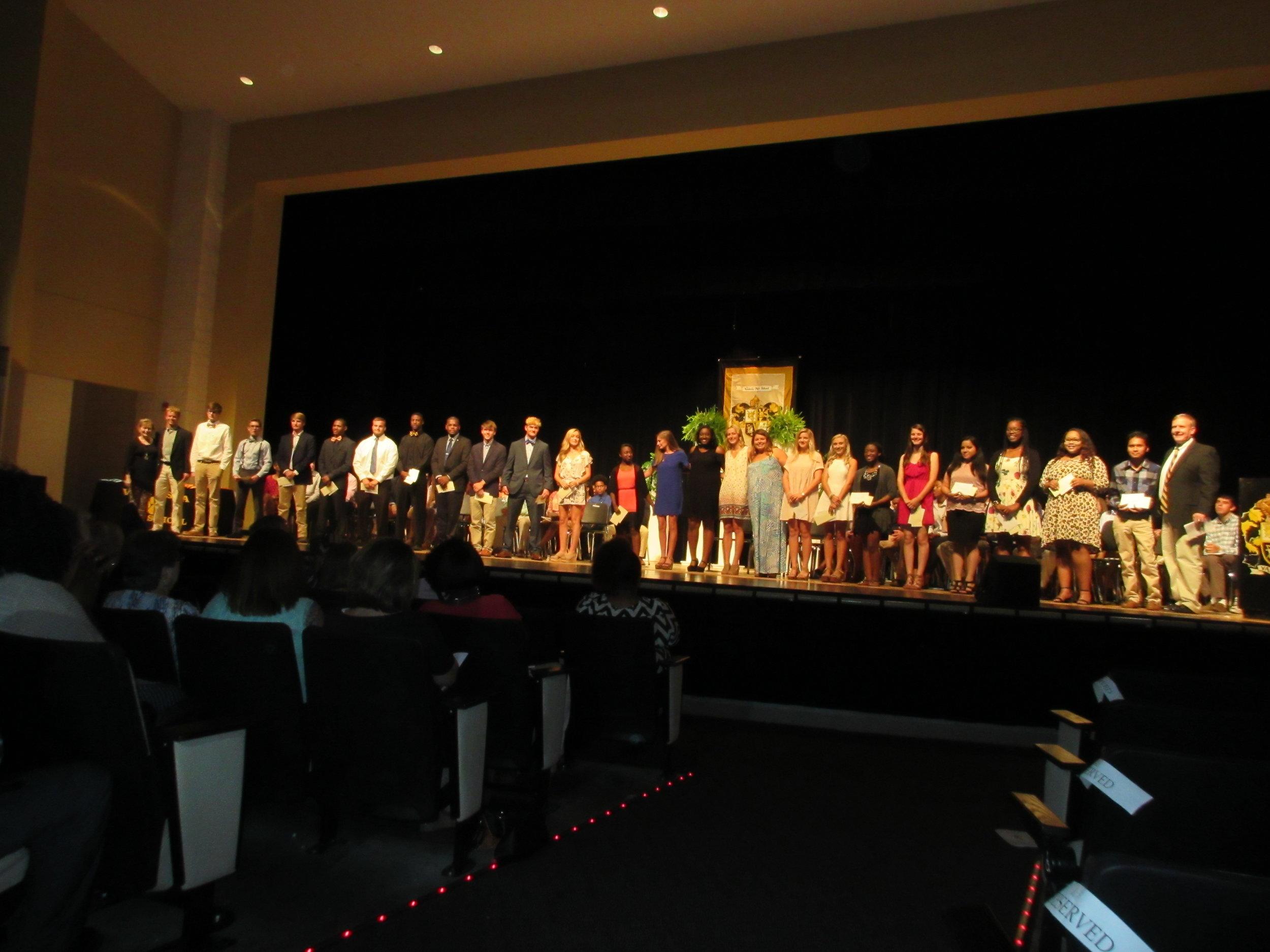 2017 Valdosta High School Scholarship Presentation.