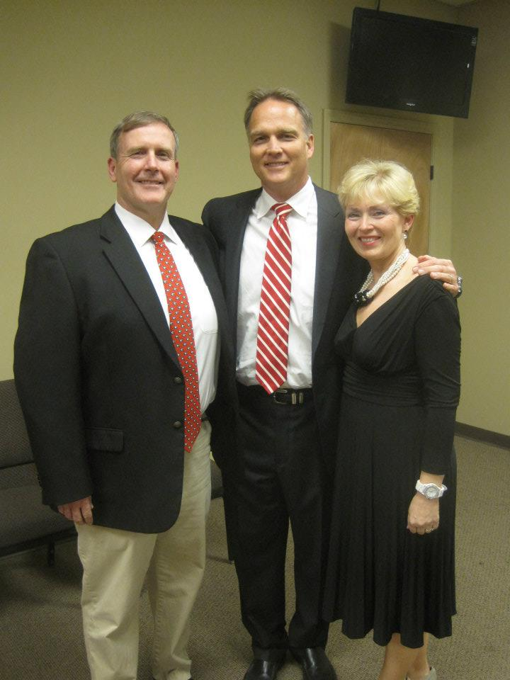 Me and Tammy with Coach Richt.jpg