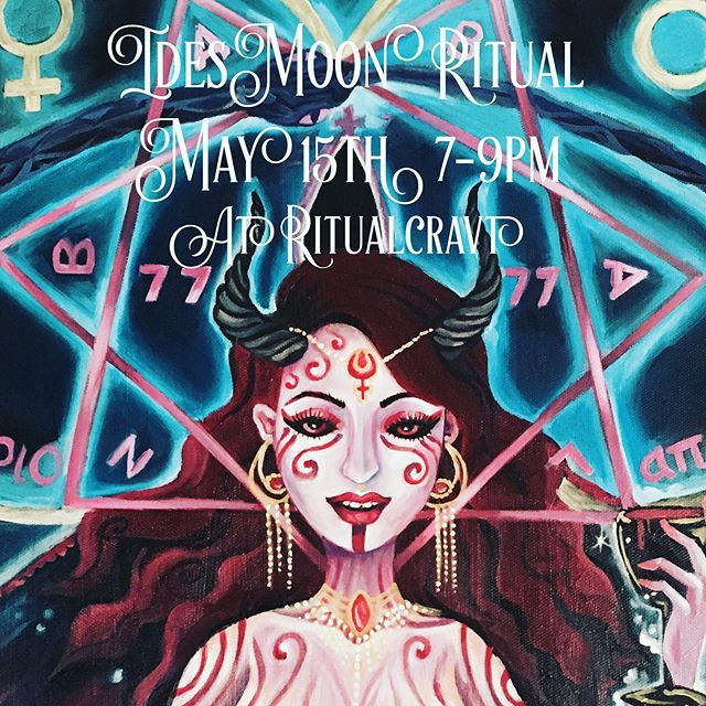 This Wednesday, May 15 @thepeacockgrimoire and I will be leading an invocation of Babalon at the new @ritualcravt space 🌹We will share our personal journeys with this Goddess of Love and Apocalypse, and then all participate in a ceremony to call her into our lives. By donation, 7-9pm. See you there! In Nomine Babalon 🍷  #babalon #denverco #ritualcravt #ritualcravtschool #denverevents #witchesofdenver #denverwitch #ceremony #thelema #apocalypse
