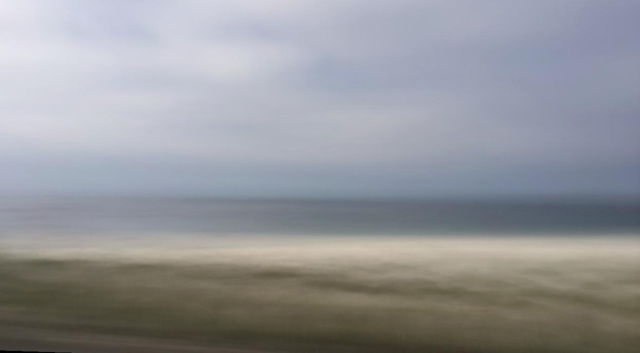 Scanning the beach