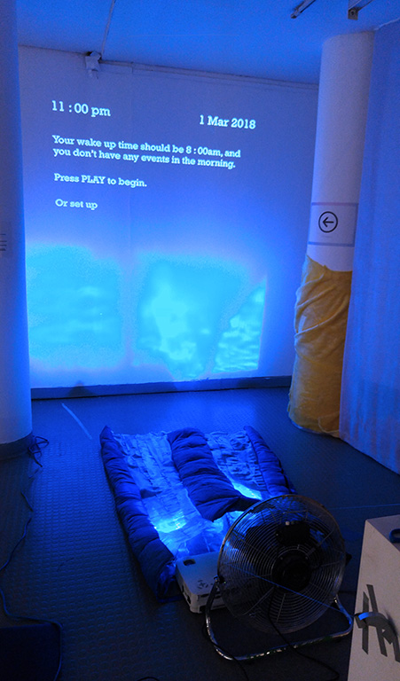 Prototype of THETA exhibiting in the RCA as part of the project