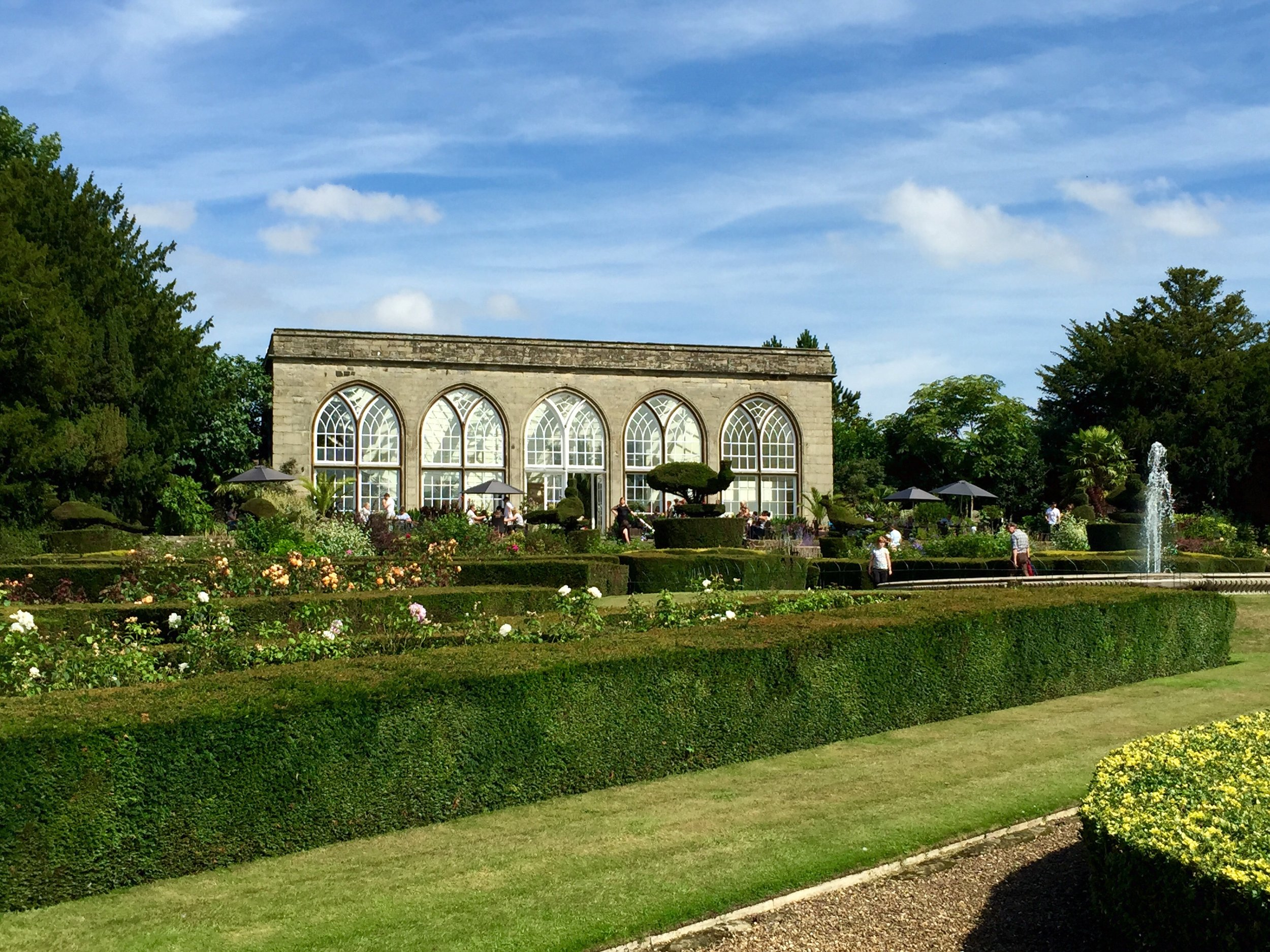 Conservatory or Orangery. Starting to learn about the famed English gardens!