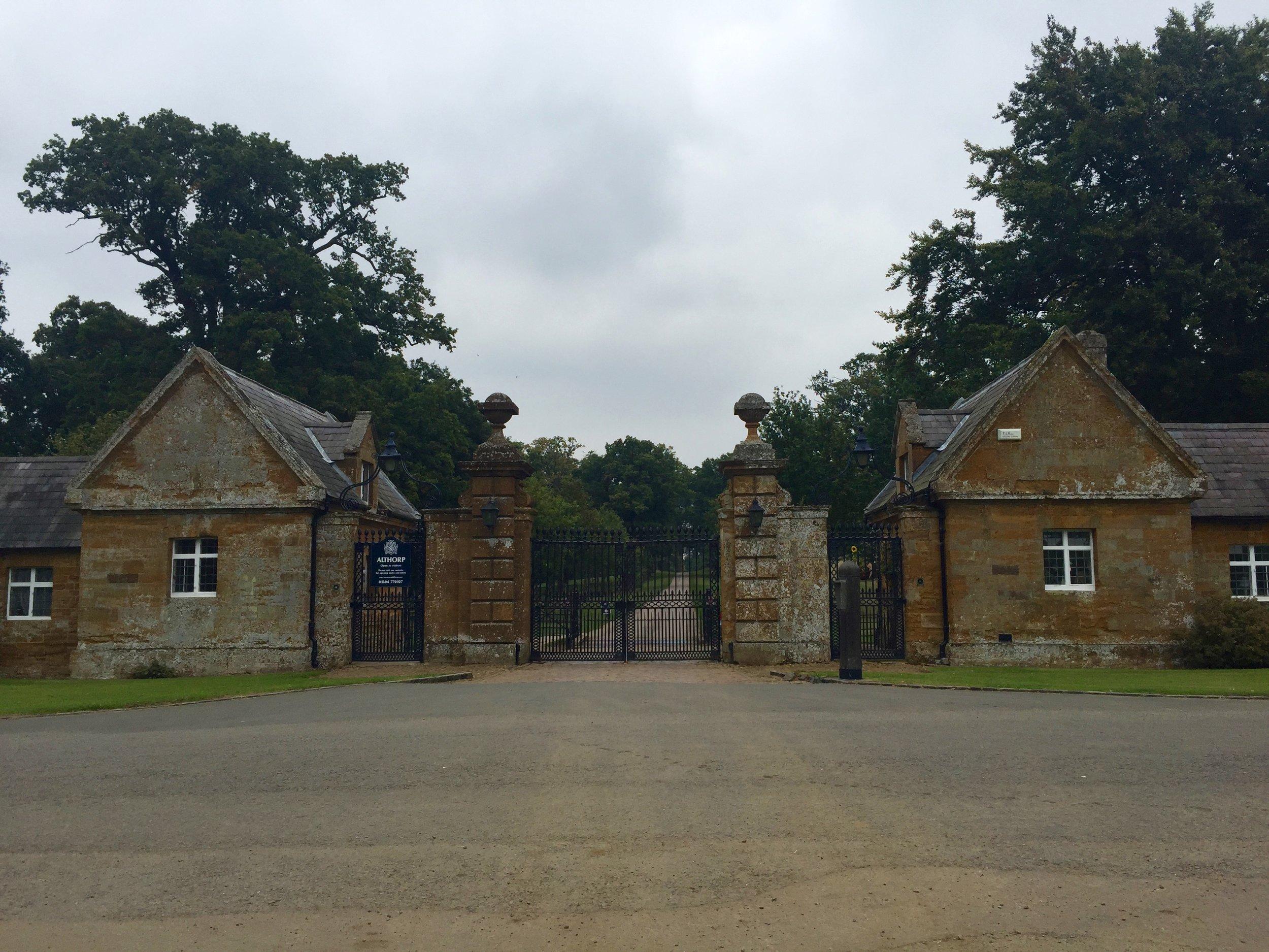 Gates to Althorp