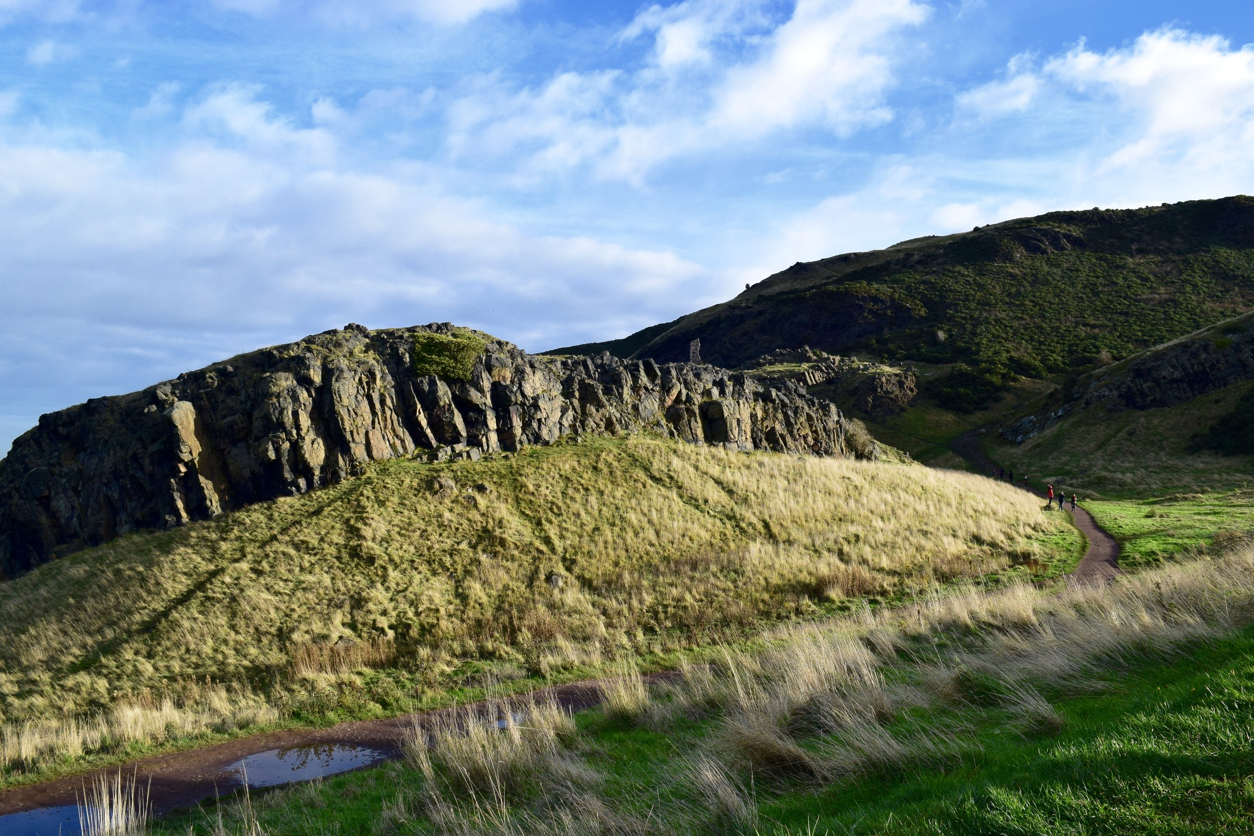 Hiking Arthur's Seat