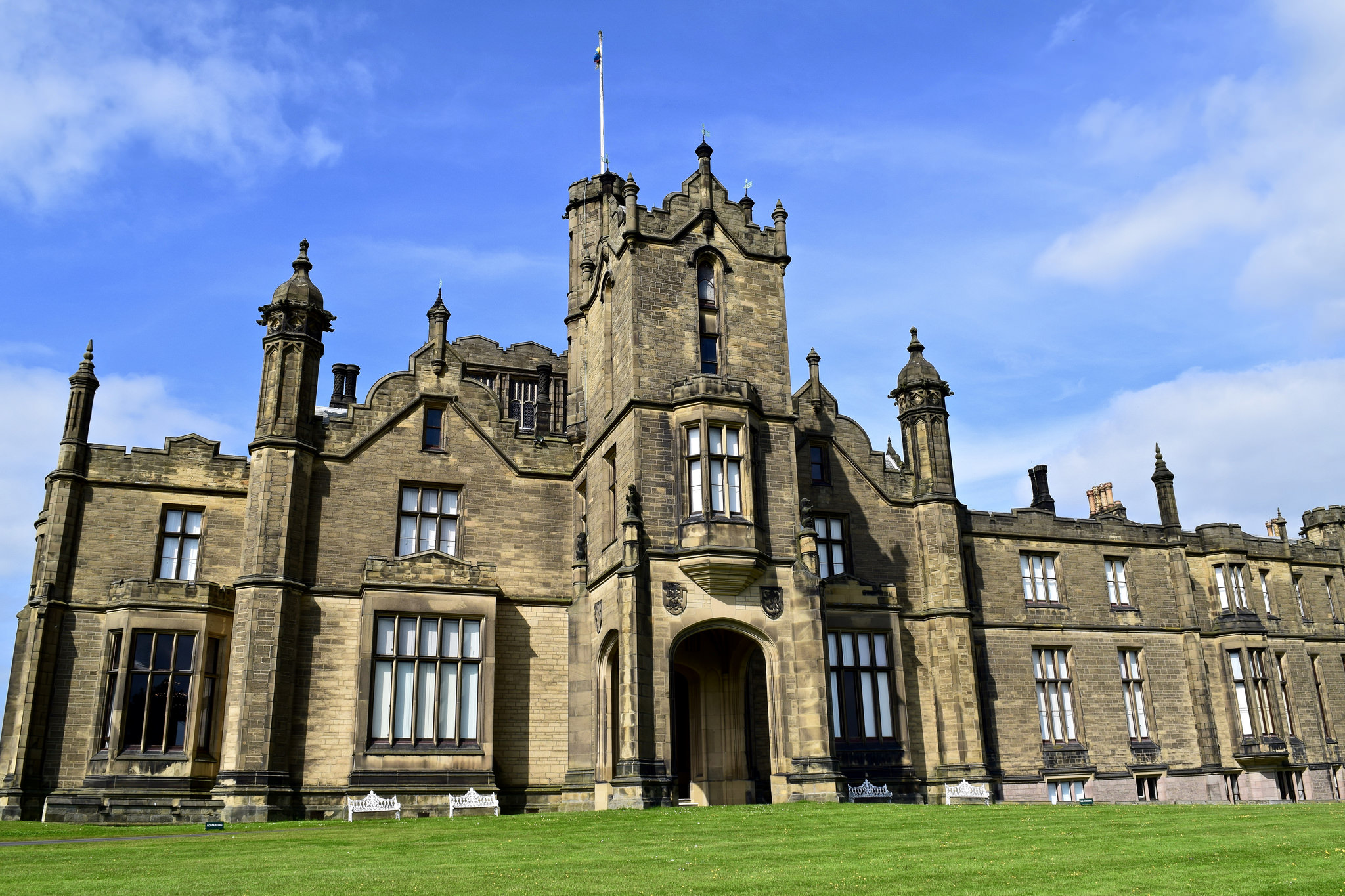 Allerton Castle, Yorkshire, from 1843