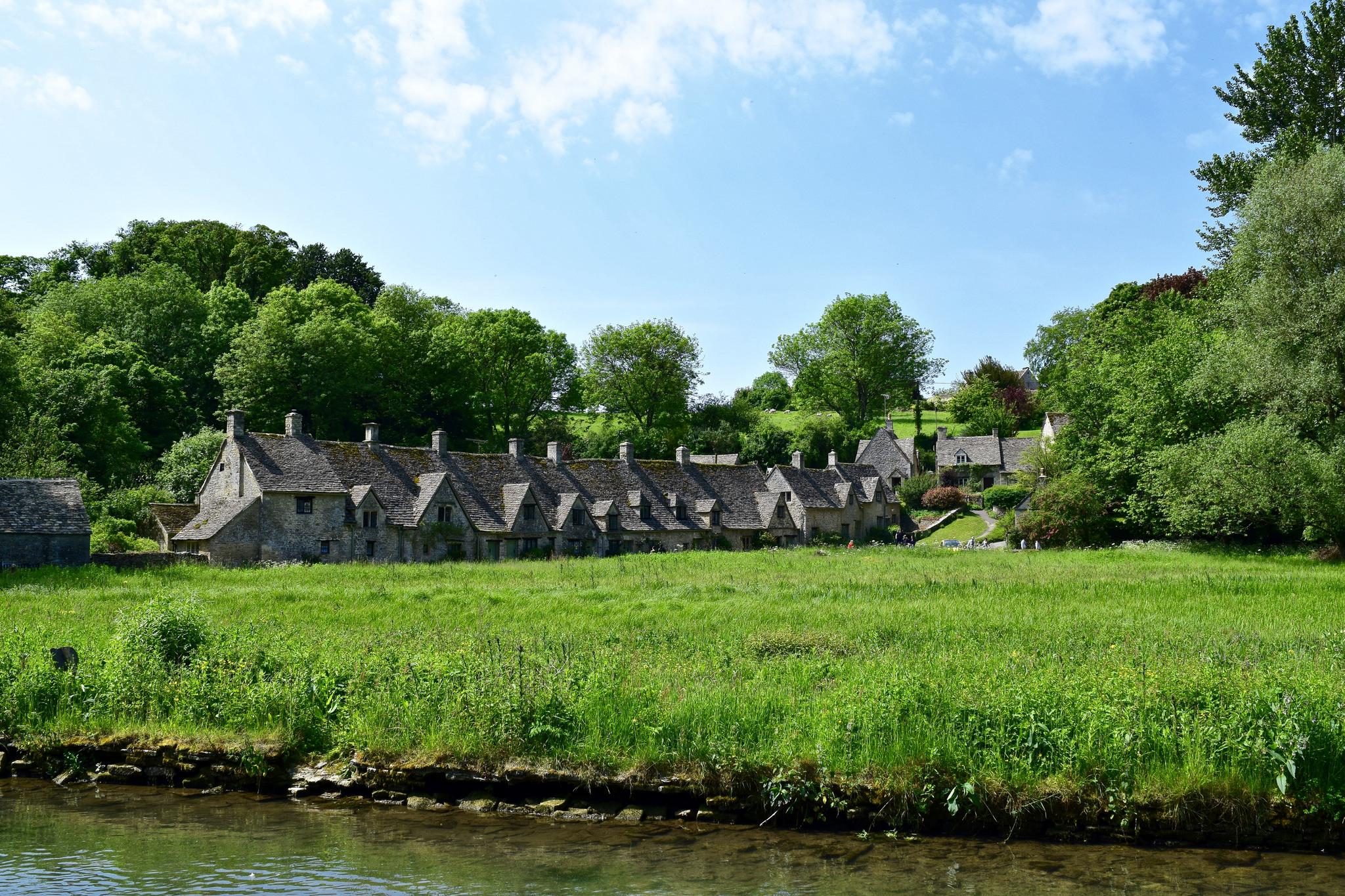 Old Weavers' Homes in Bibury