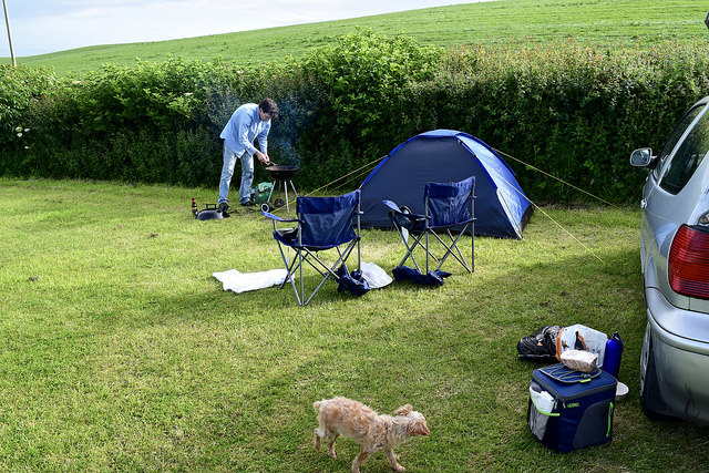 Our little campsite
