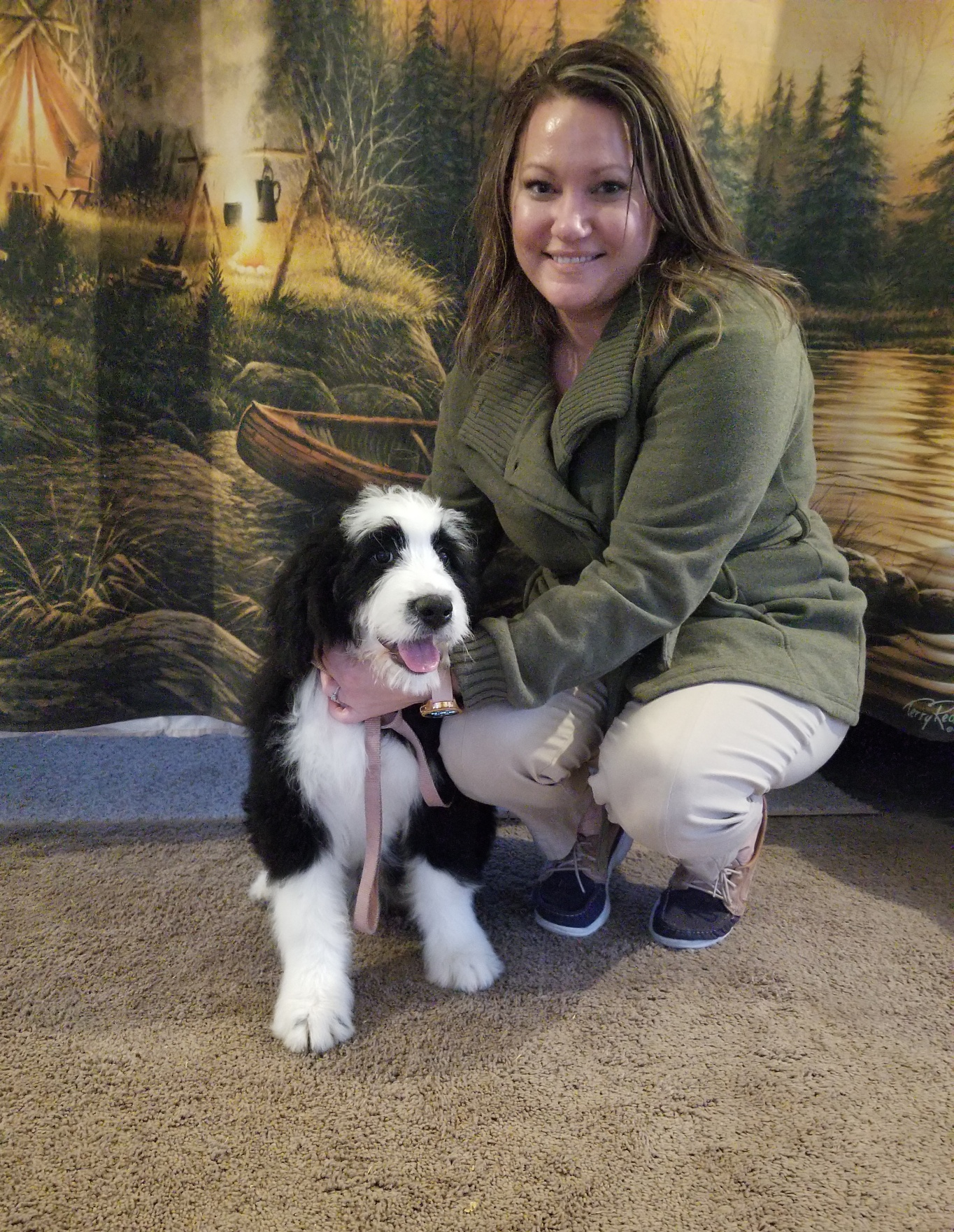 Daisy has found her forever home with Joanna Noel and family from Bloomington Il. She will get to be a service dog.