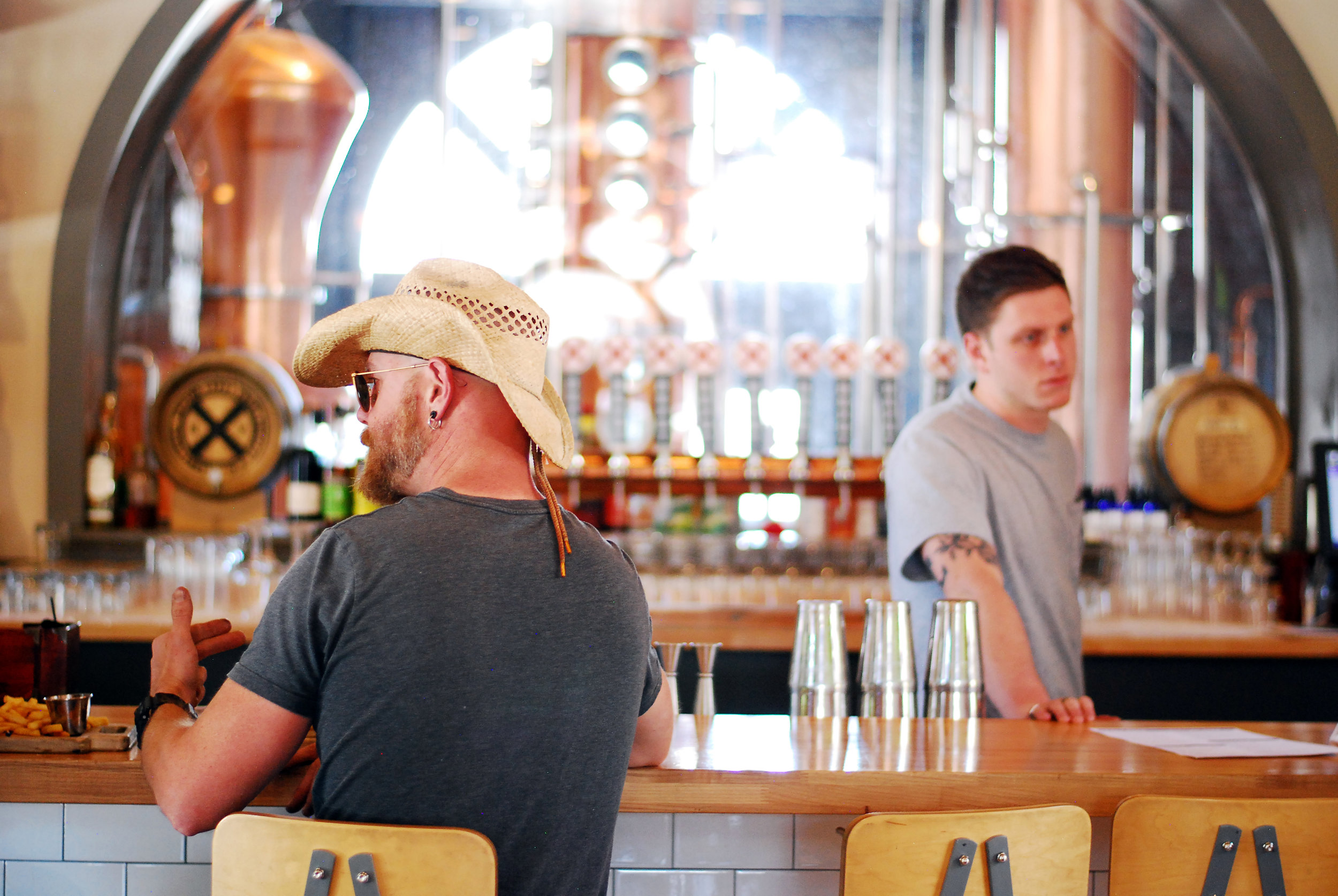 The Depot Craft Brewery and Distillery in Reno, Nevada