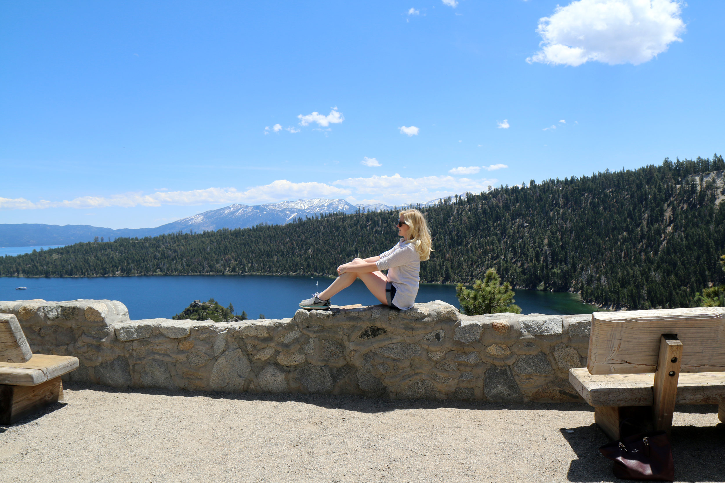 Tahoe with lifestyle and travel bloggers Bri Sul and Caitlin Mcaninch