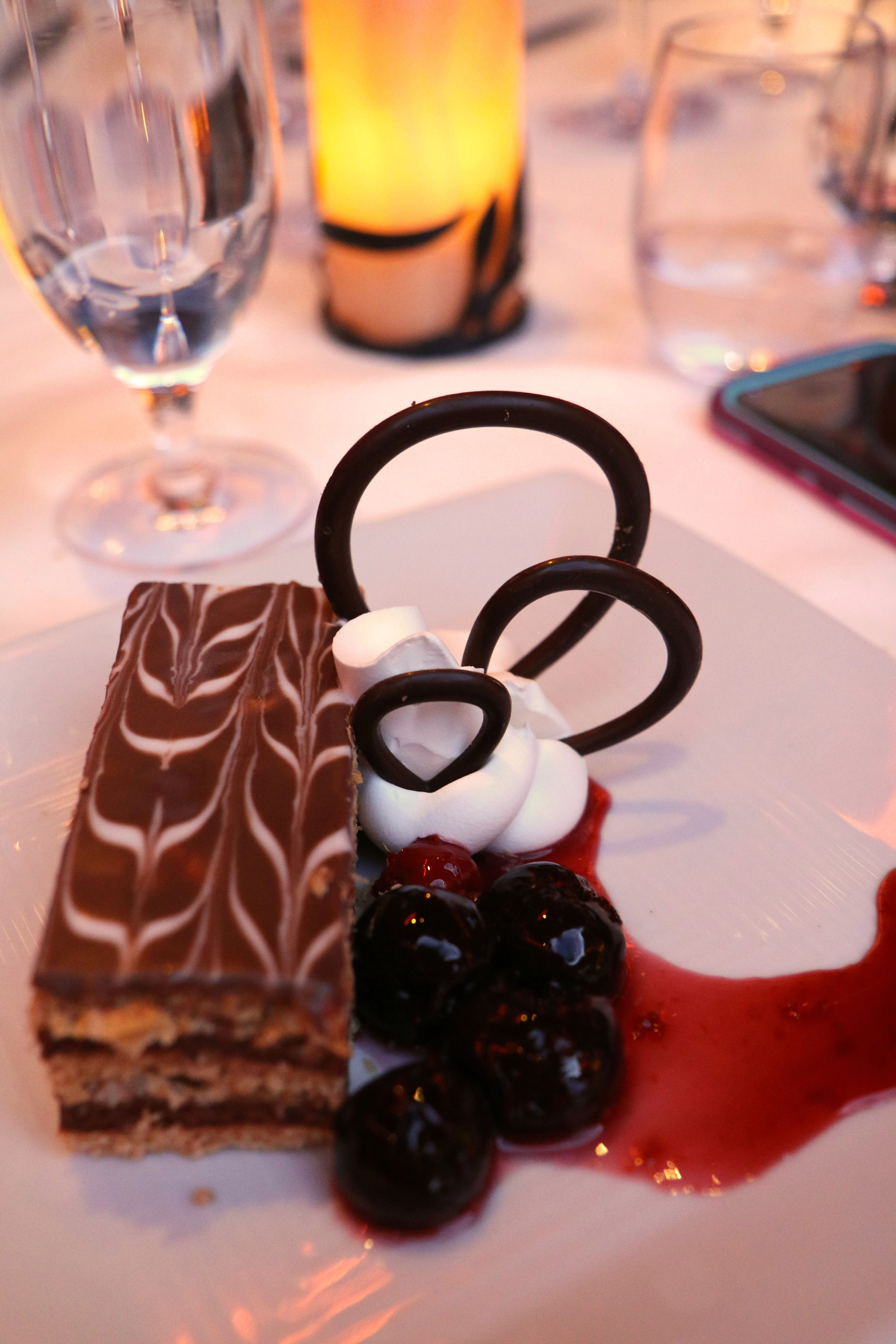 Amazing food from a catered wine dinner at the best casino in Reno, Nevada - the Atlantis Casino Resort Spa