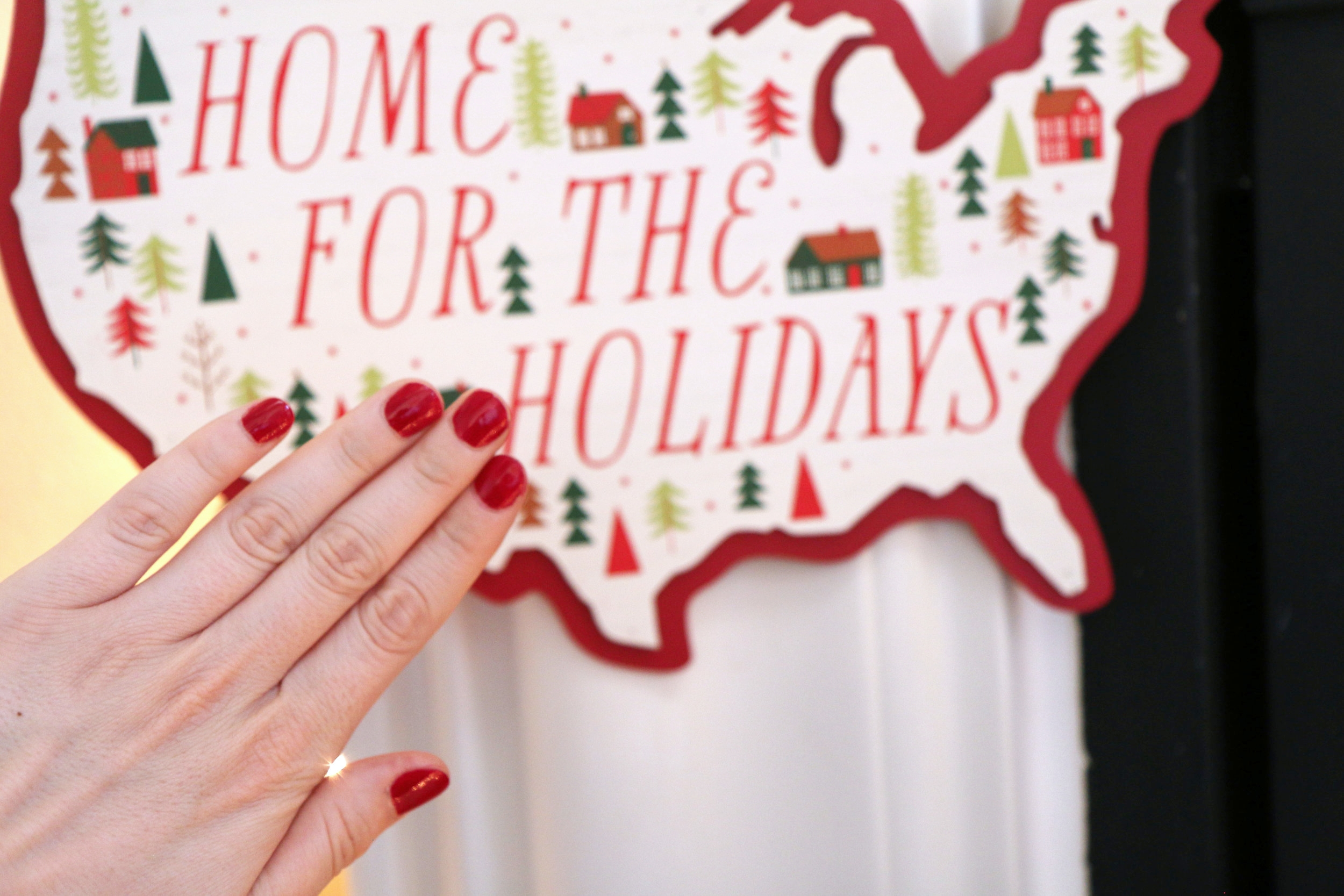 Christmas Red OPI Nail Polish