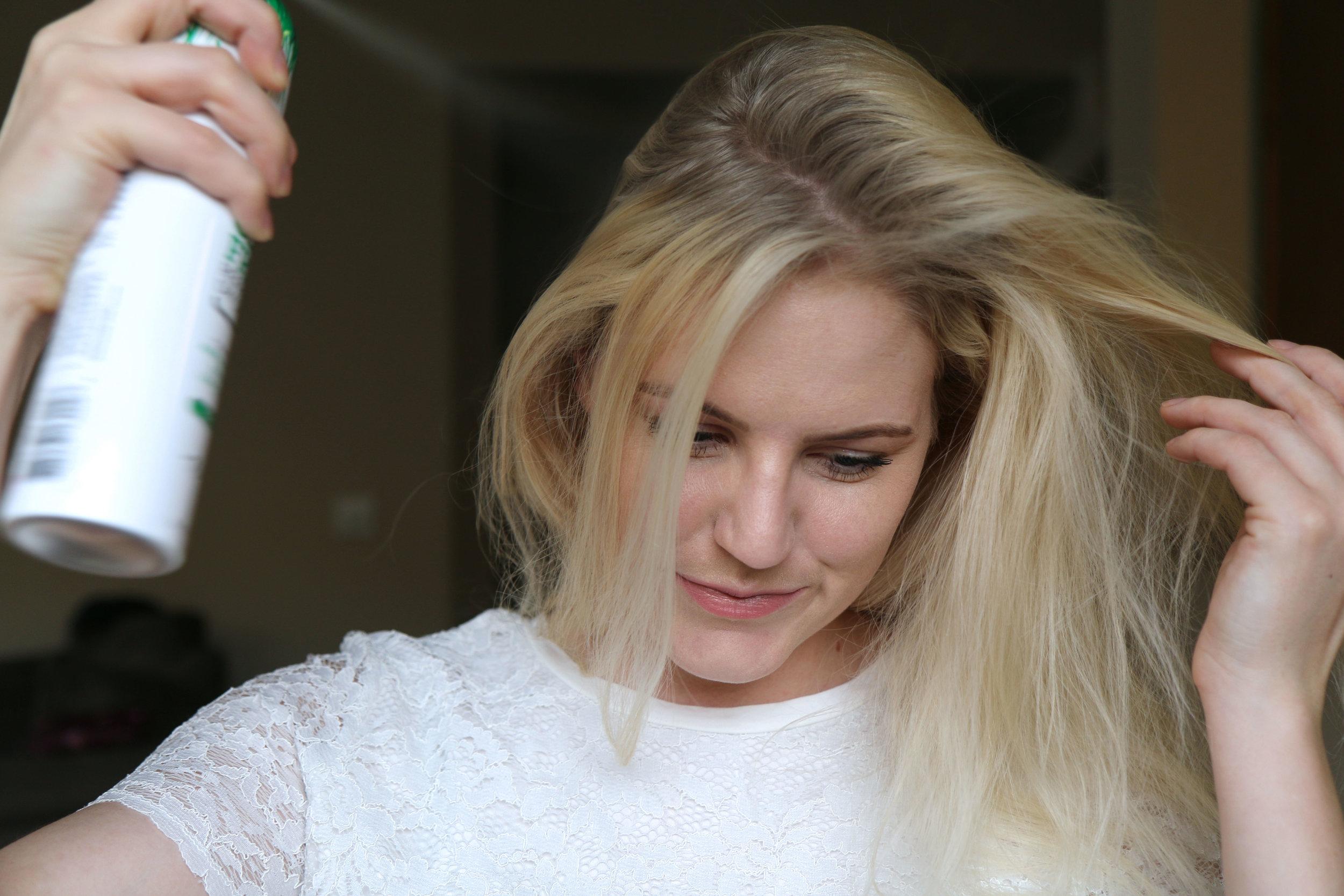 Dry Shampoo for Big Hair