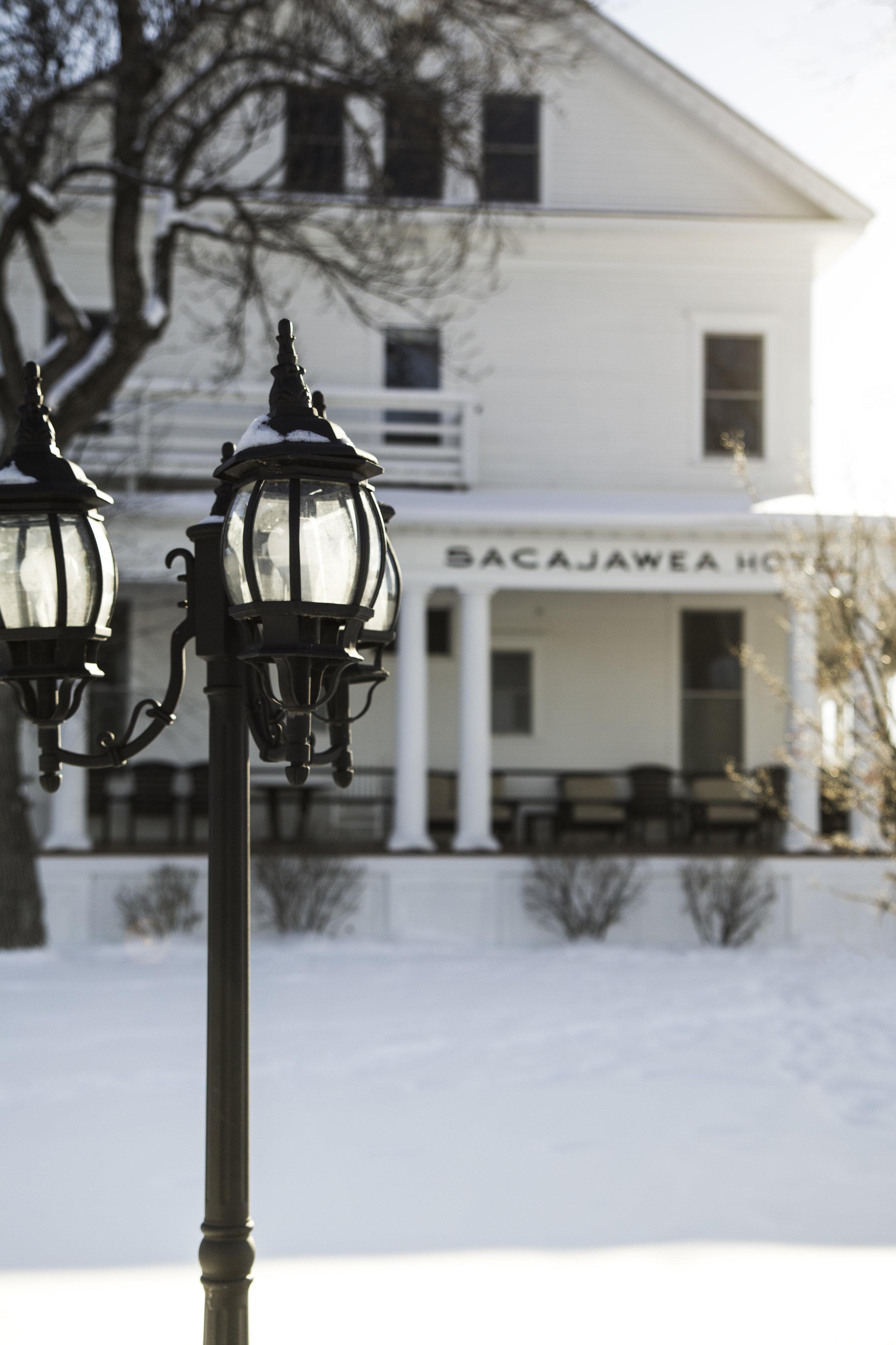 Sacajawea Hotel in Three Forks, Montana