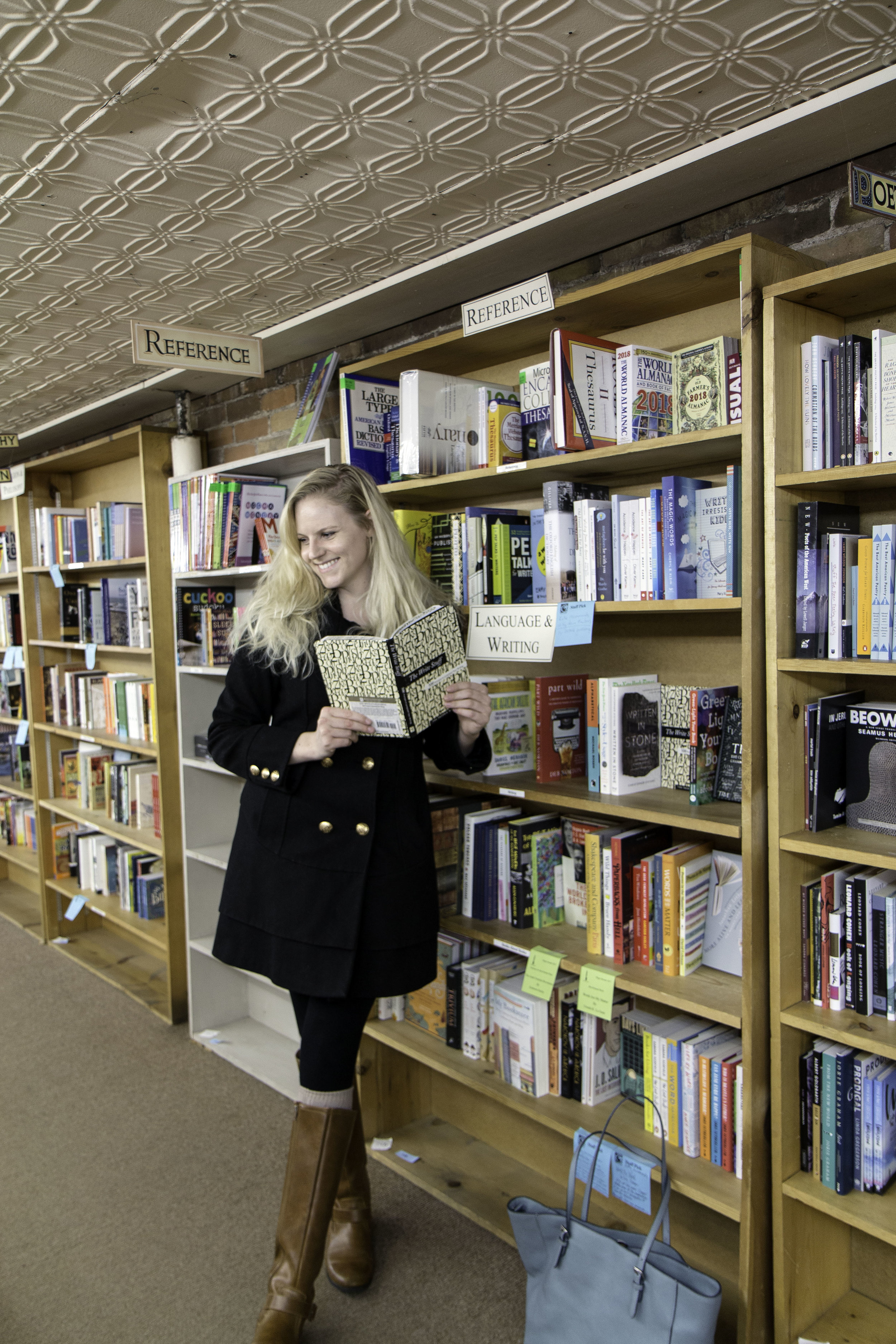 Country Bookshelf in Downtown Bozeman, Montana