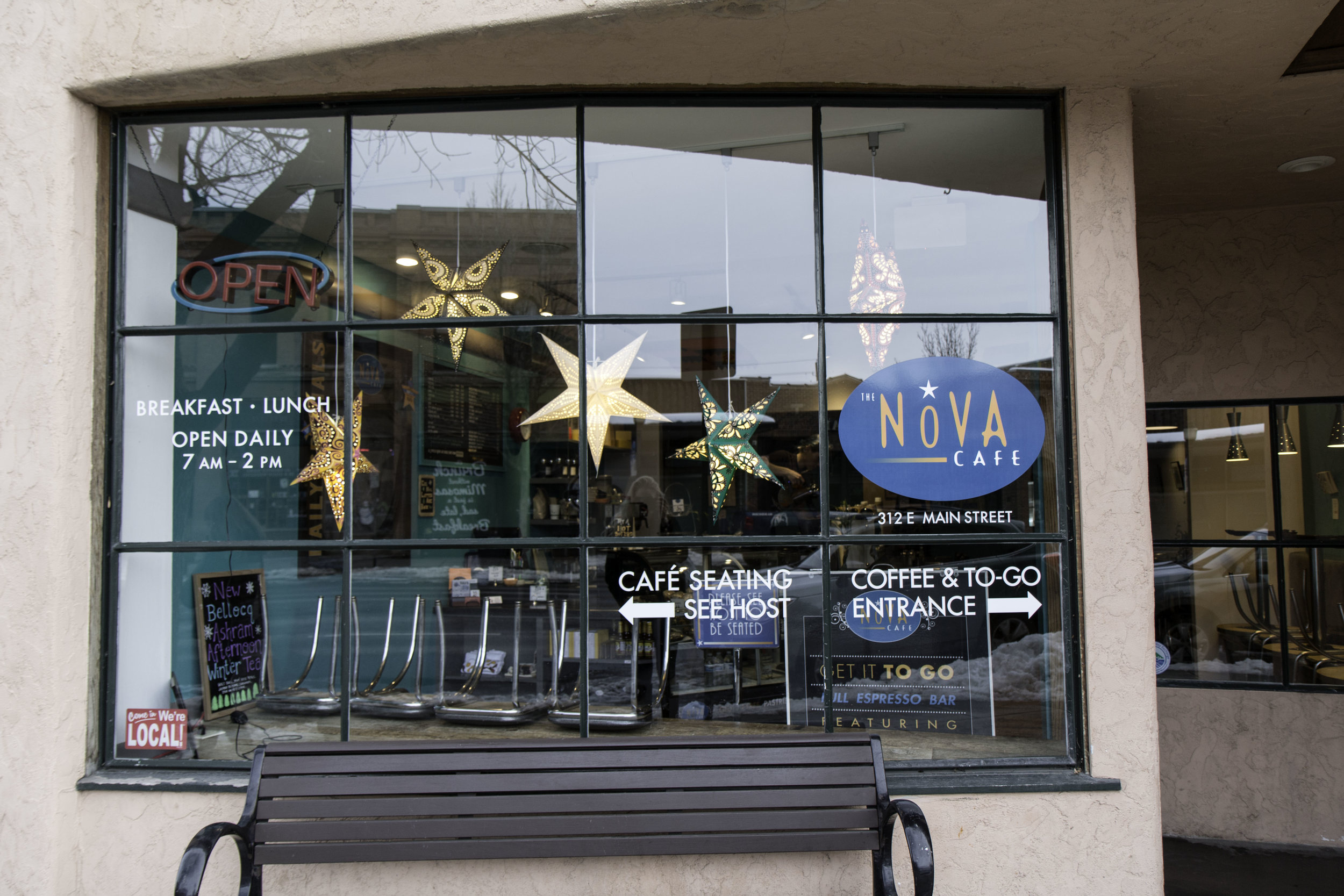 Nova Cafe in Downtown Bozeman, Montana