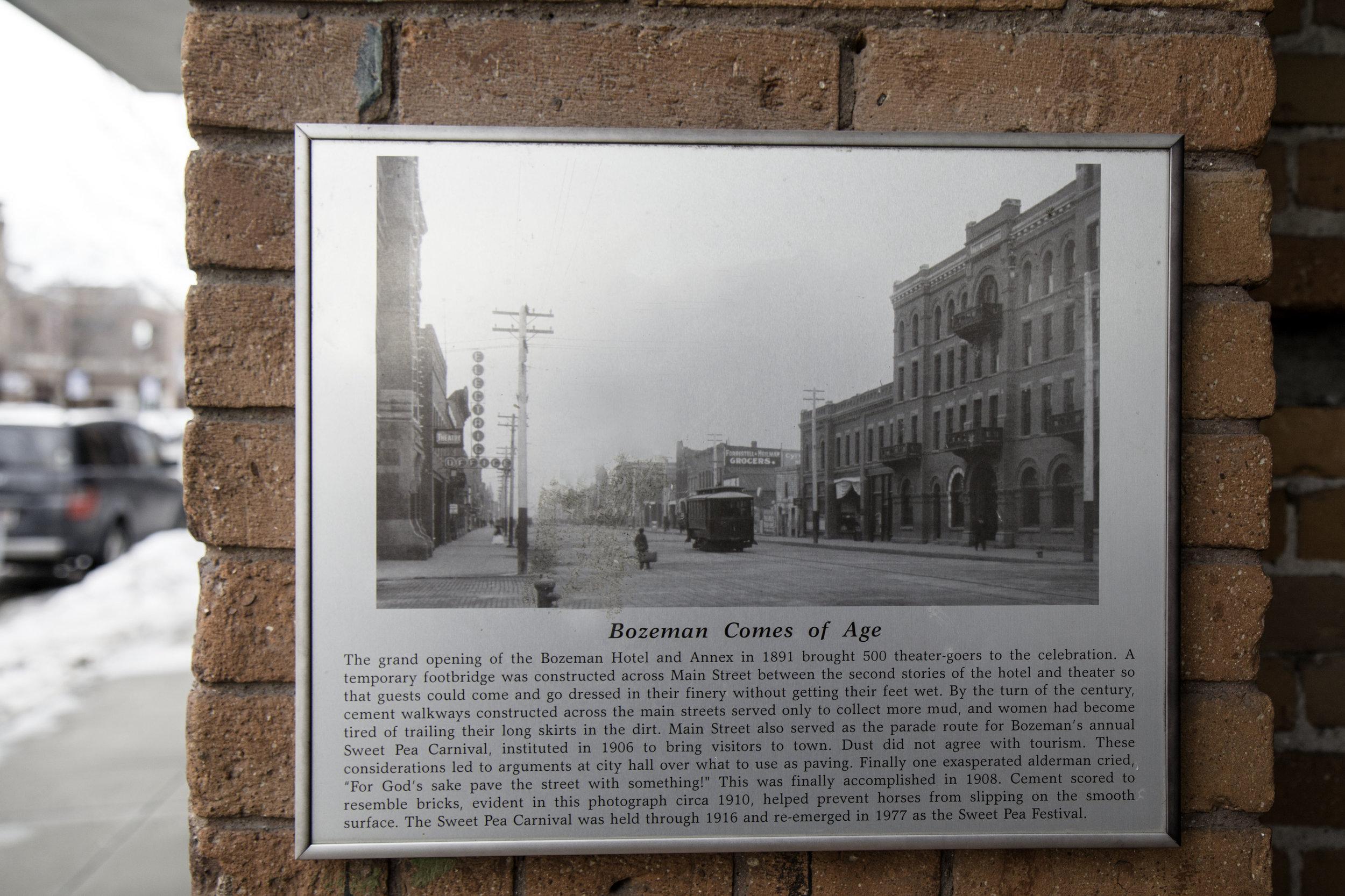 Downtown Bozeman, Montana