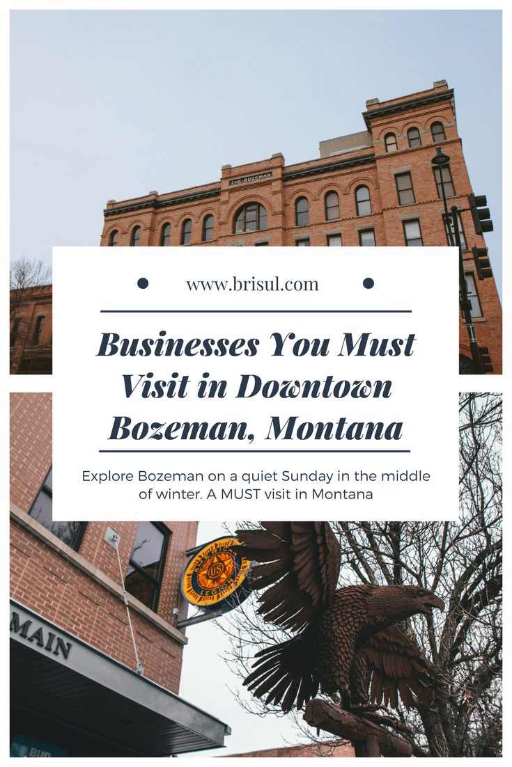 Businesses to visit in Downtown Bozeman, MT