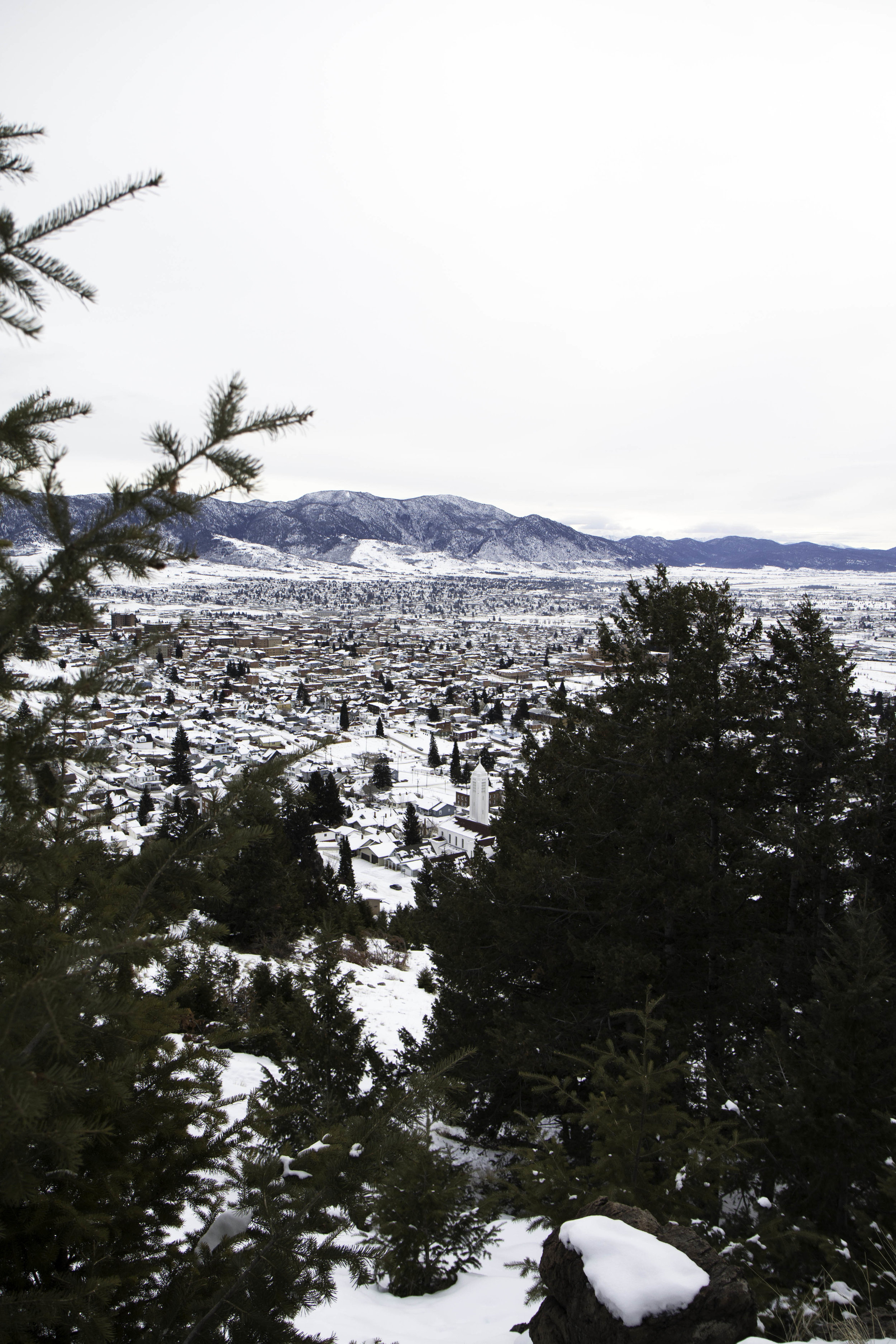Hike the M Trail in Butte, Montana