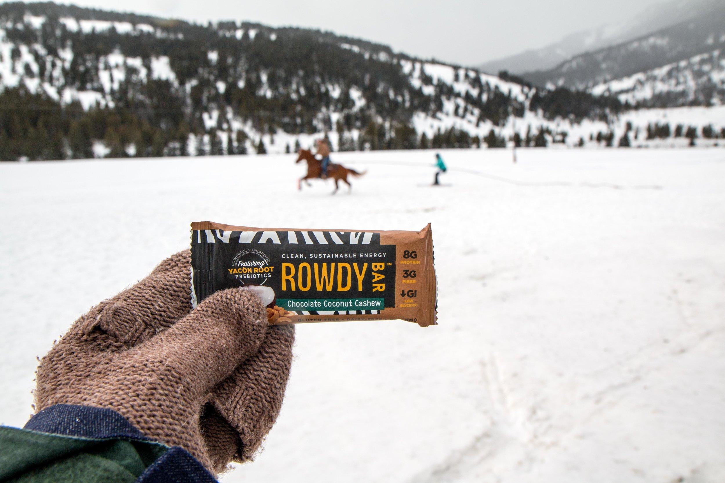 Rowdy Prebiotic Chocolate Coconut Cashew Bars