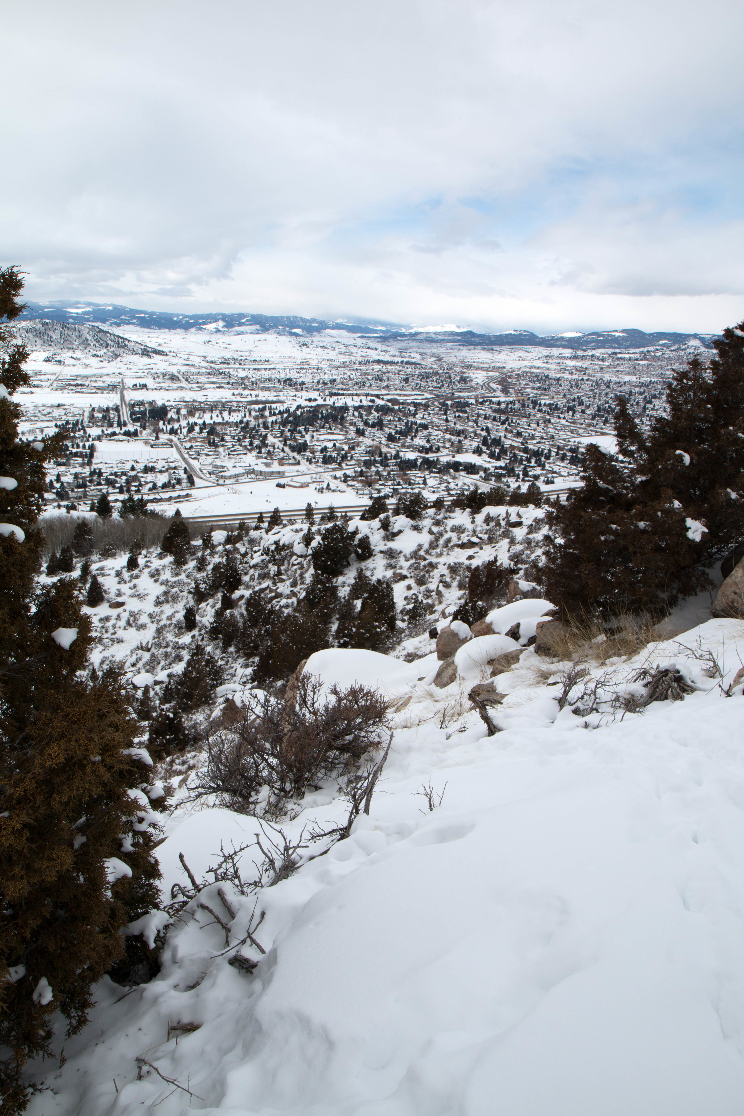 Maud S. Canyon Loop in Butte, Montana