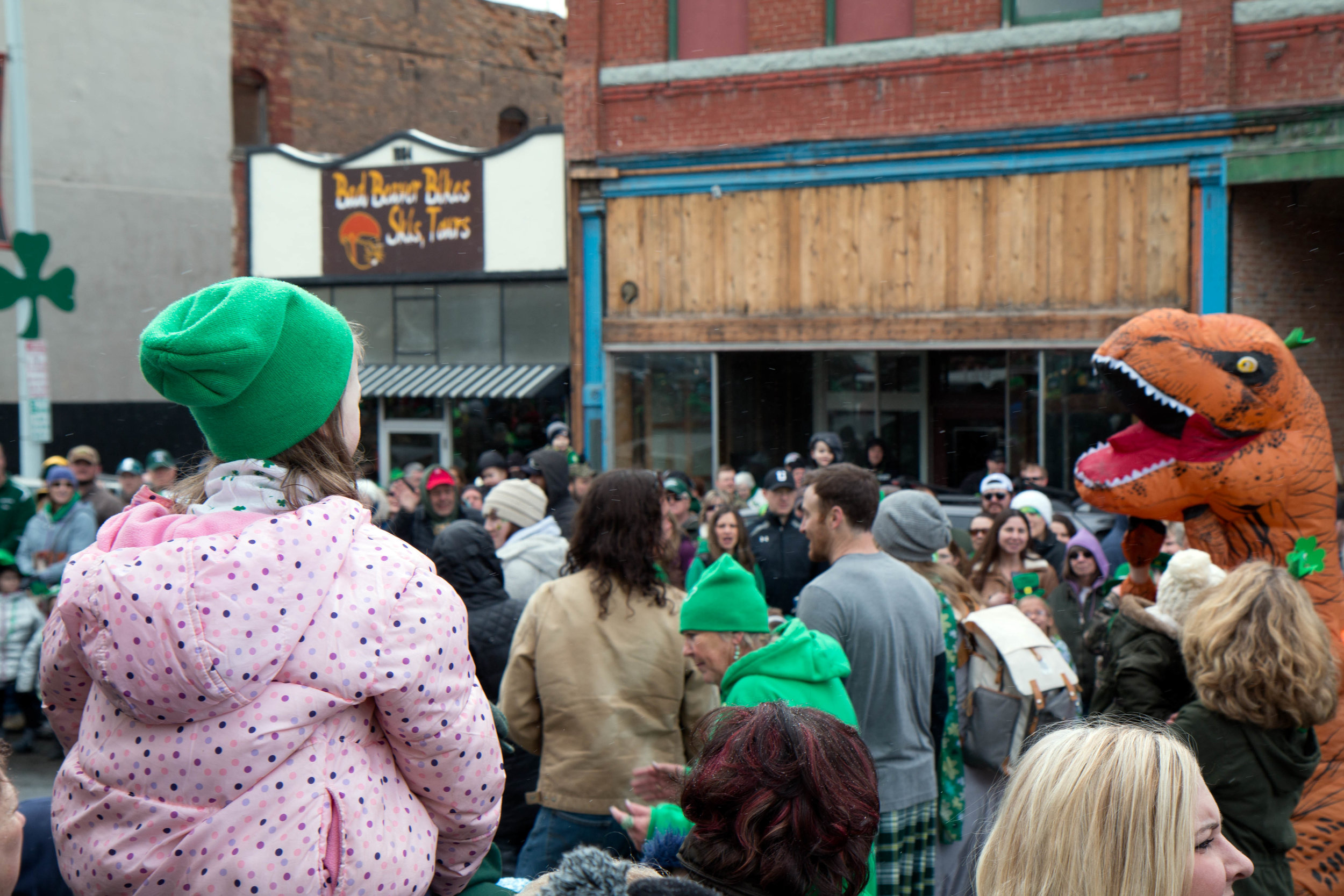 St. Patrick's Day Parade in Butte, Montana