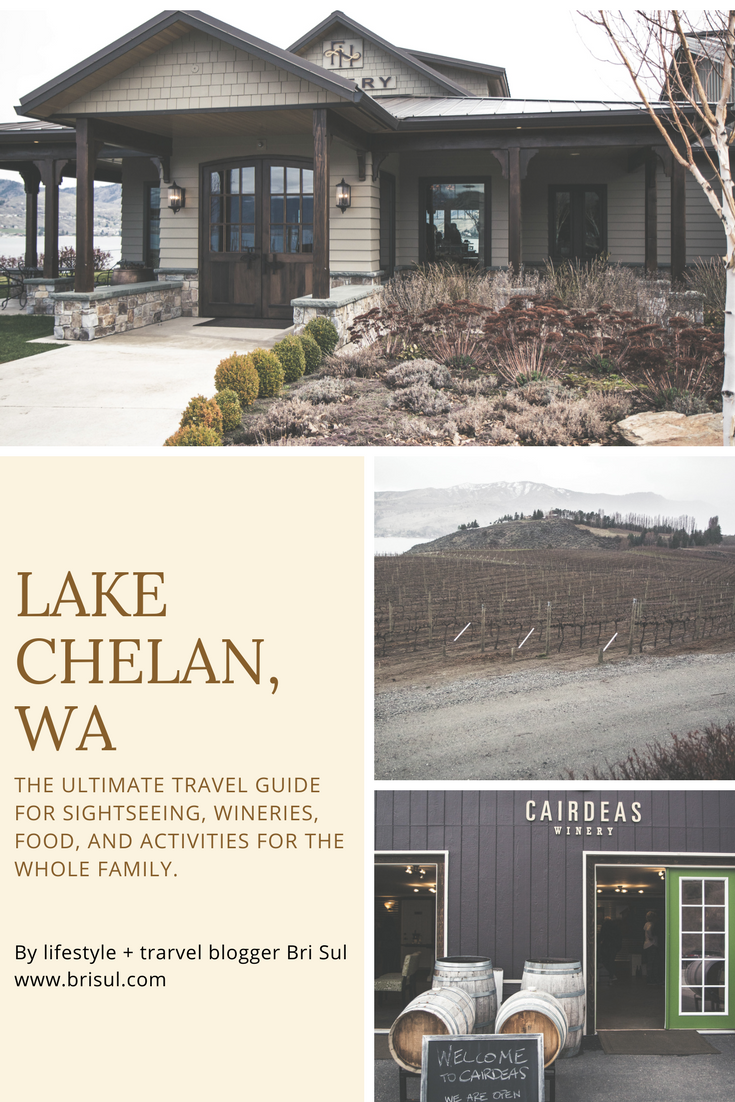 The ultimate travel guide for Lake Chelan, WA outside of Wenatchee, WA. Tips and tricks for the best exeperiences, wineries, and activities.