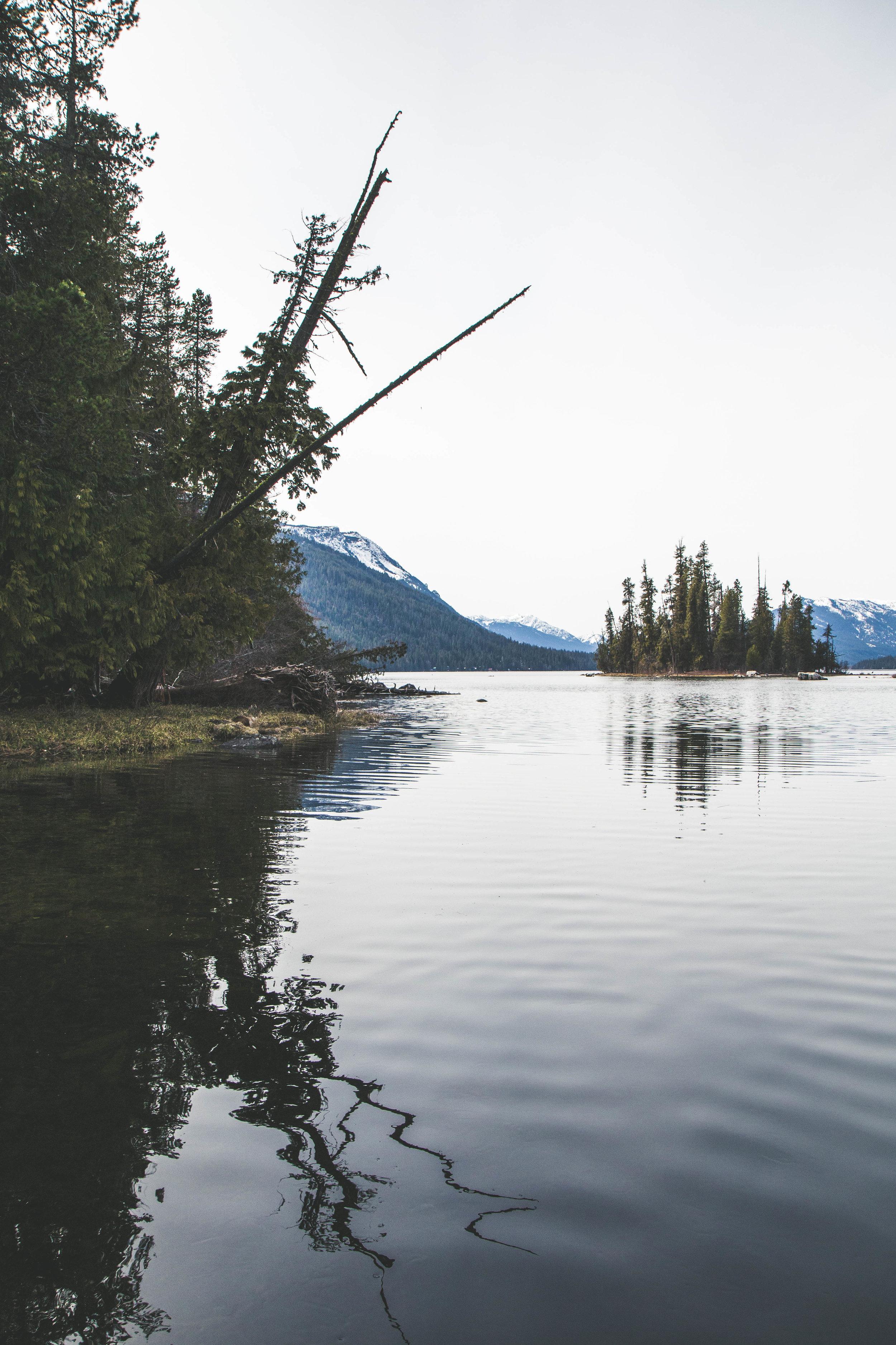 Lake Wentachee outside of Leavenworth, Washington. A gorgeous lake that has many beaches and hiking trails.