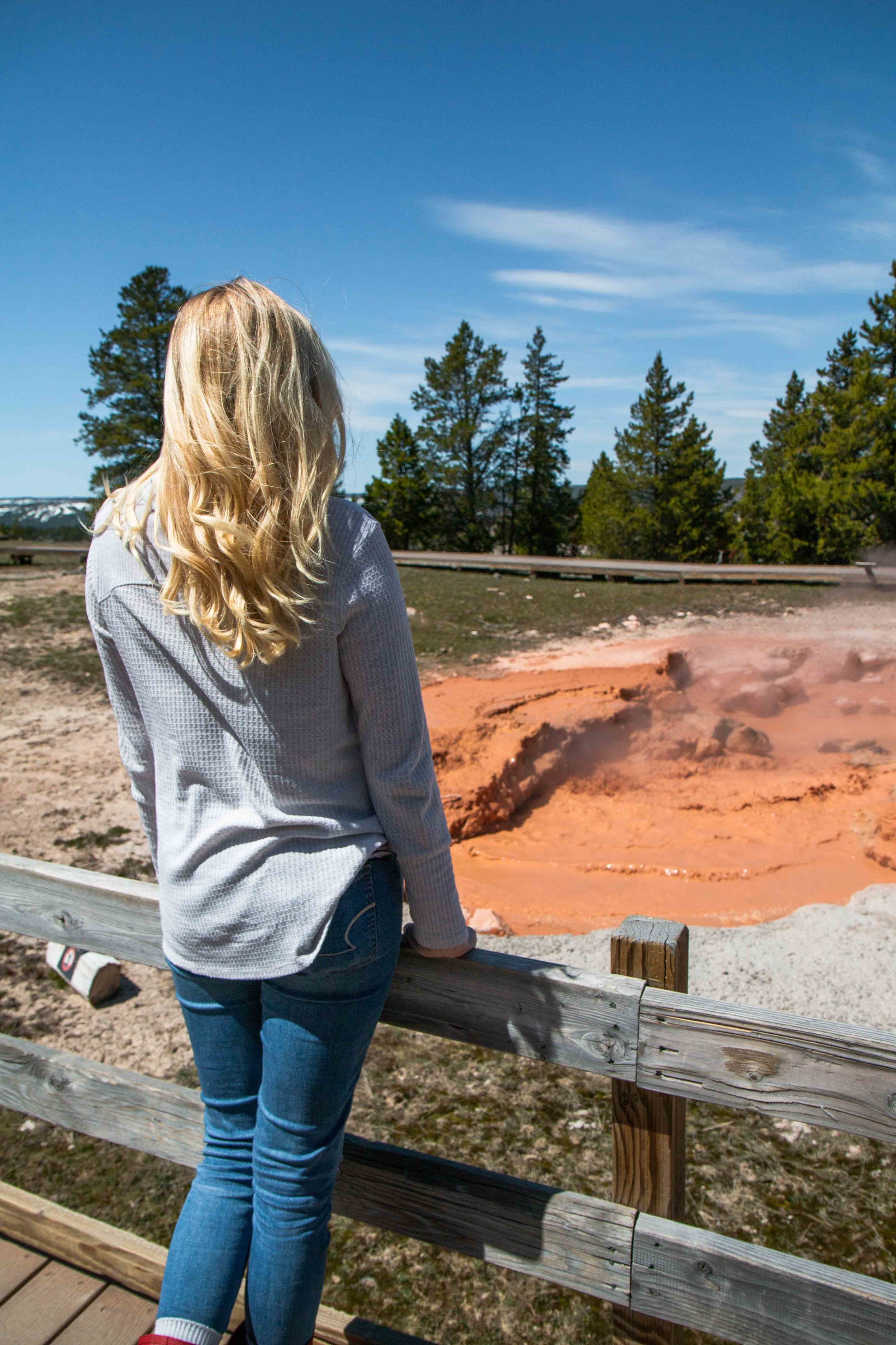 Fountain Paint Pot | The Ultimate Travel Guide for Yellowstone National Park by Travel + Lifestyle blogger Bri Sul