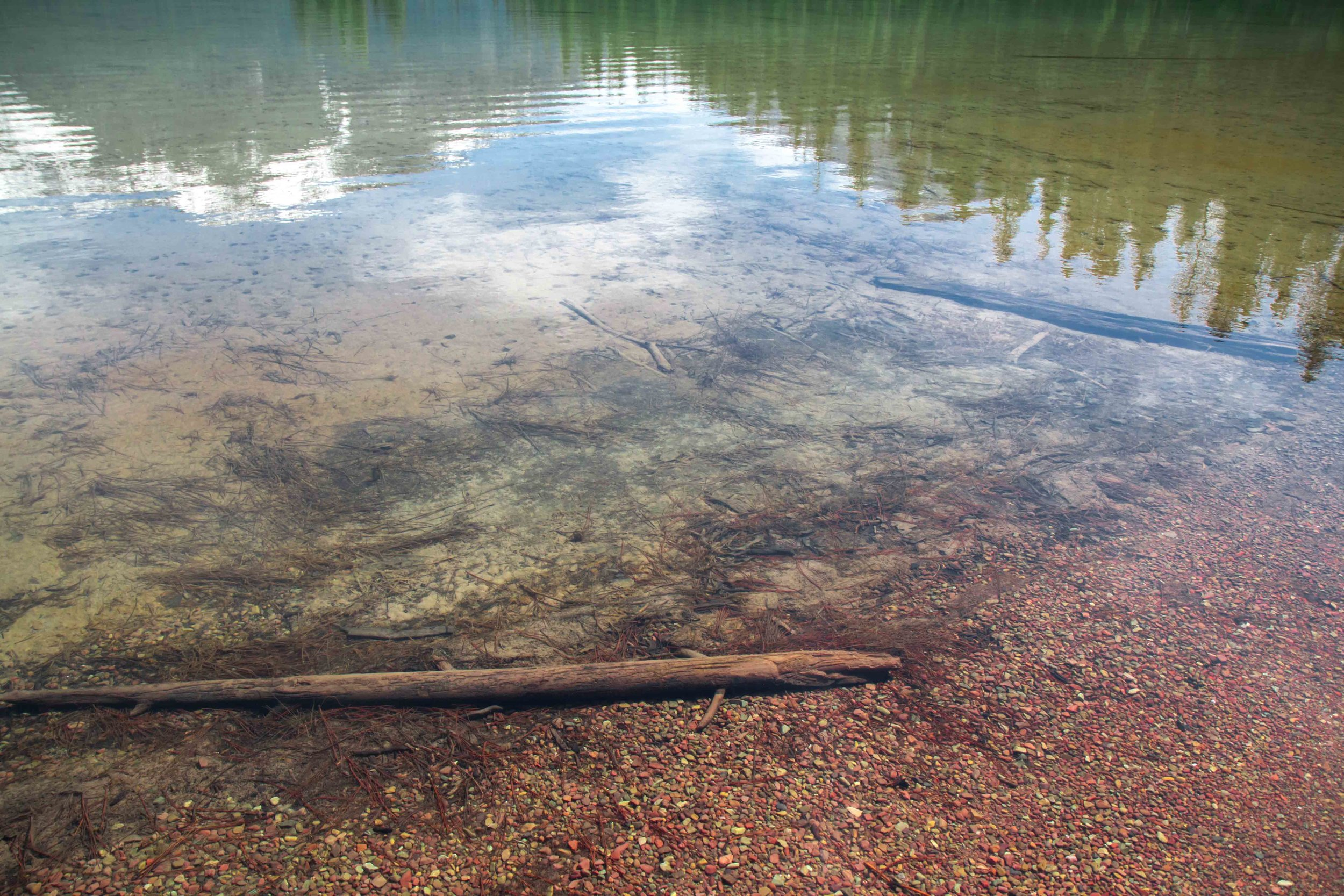 The beautiful Holland Lake Campground near Swan Lake, Montana. The BEST kept Montanan Secret.