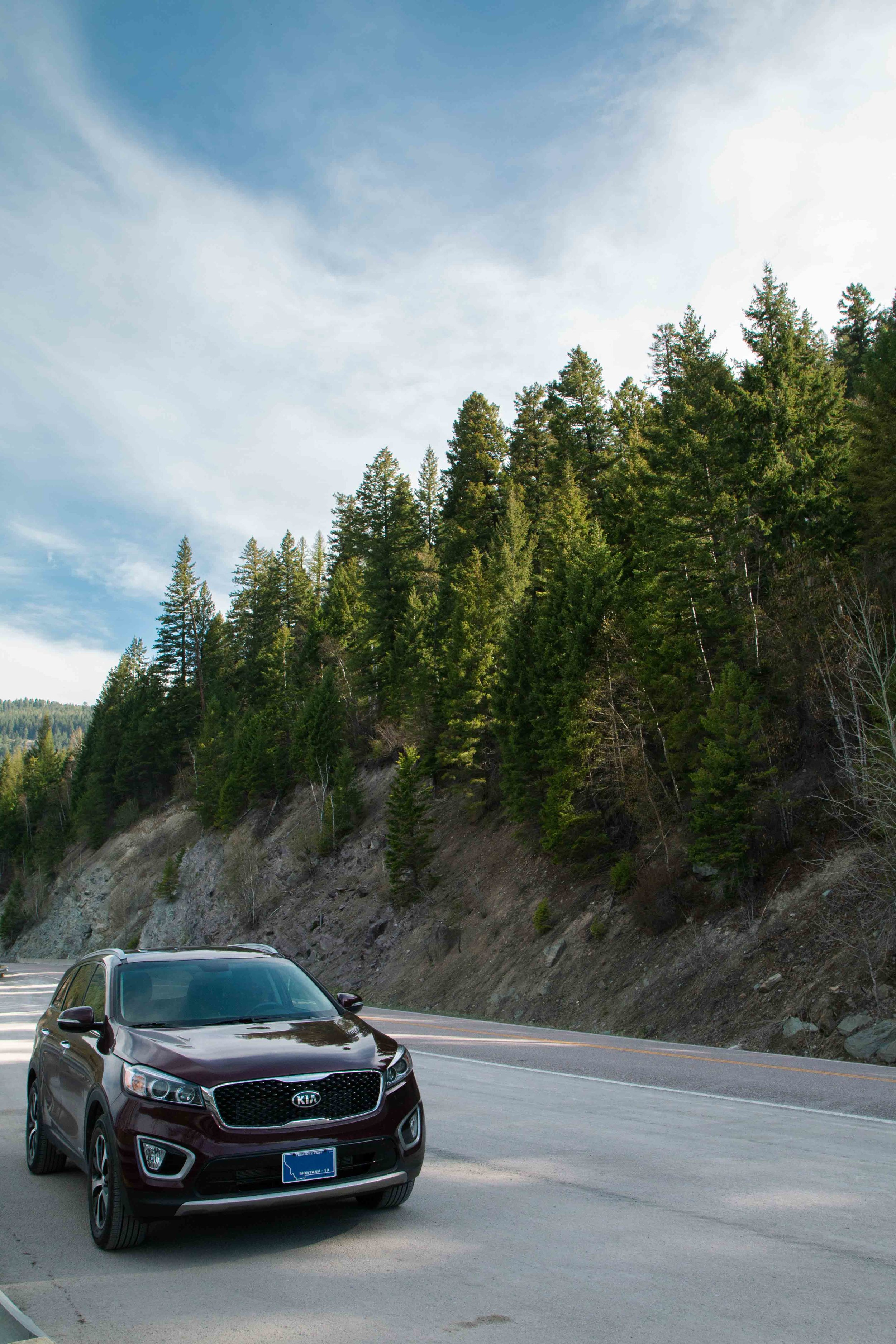 Join travel and lifestyle blogger Bri Sul as a travels around the world! Amazing road side views in Montana along Highway 83.