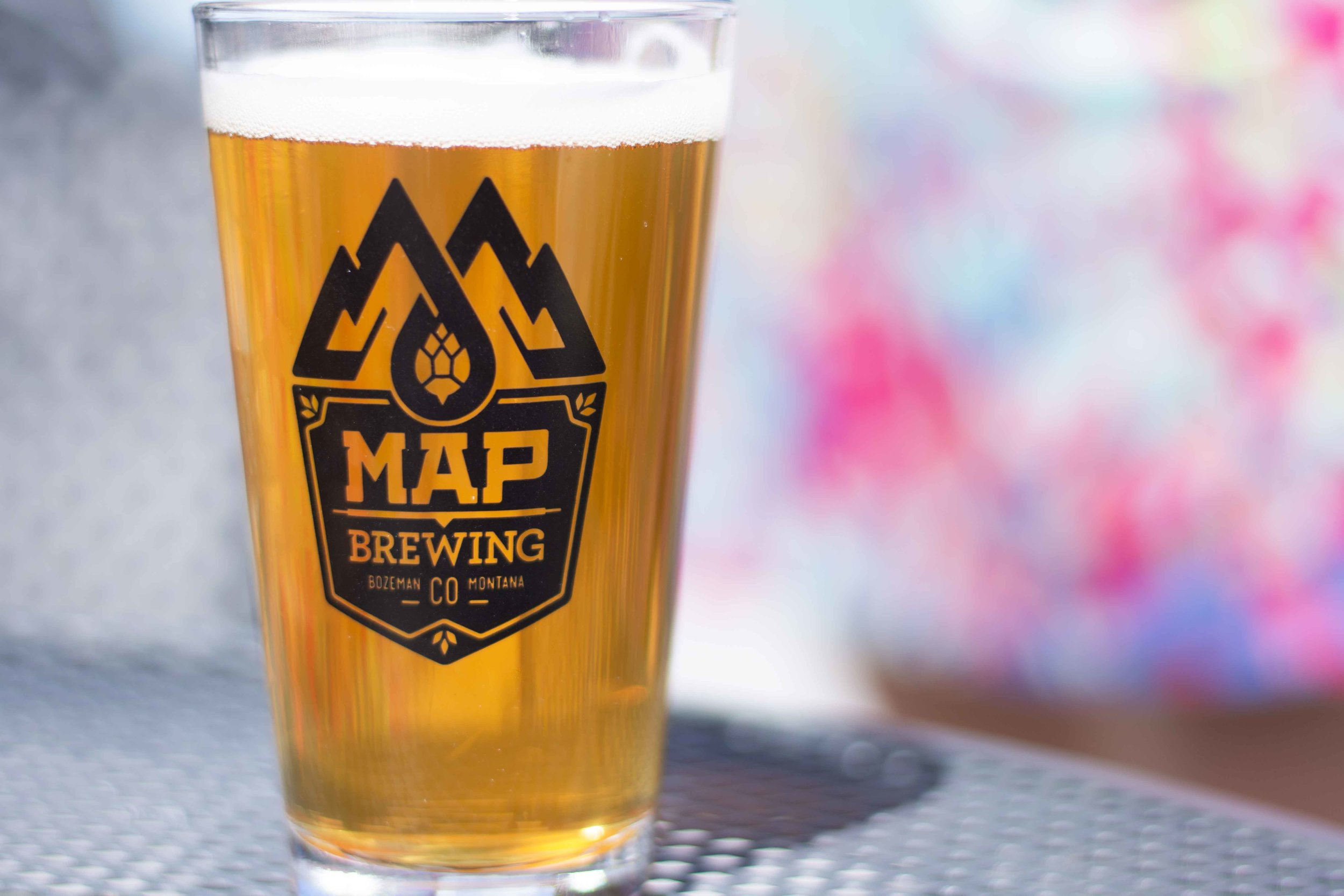Map Brewing in Bozeman, Montana. One of the best breweries in town.