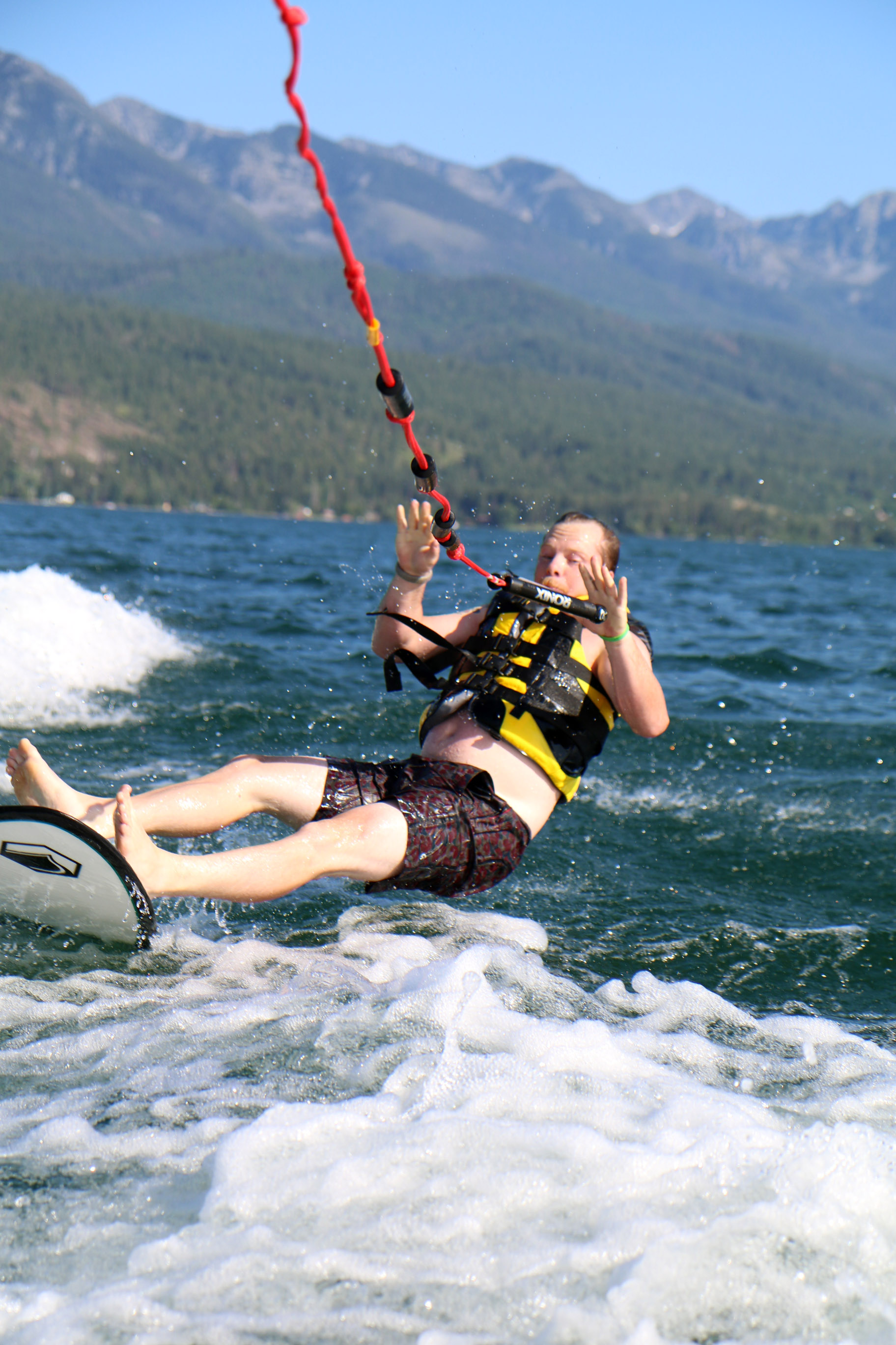 Flathead Lake in Montana. Definitely a must in the summer!