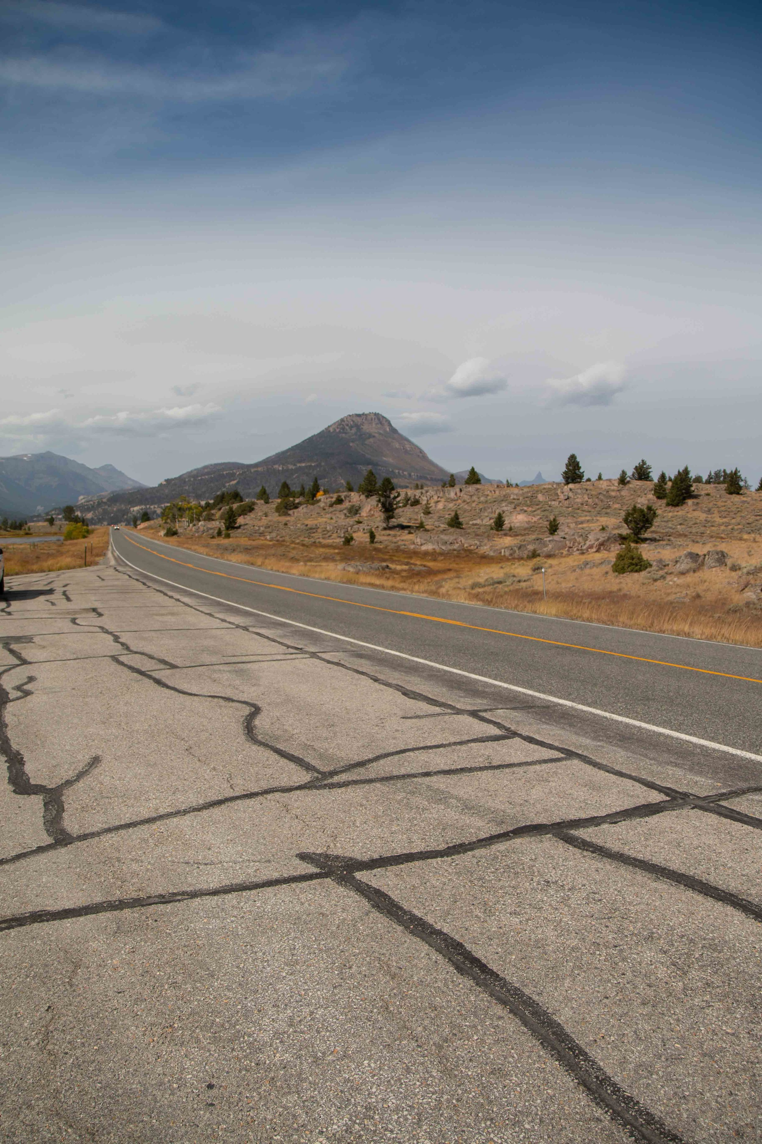 Cheif Joseph Highway on Beartooth Pass in Wyoming and Montana. Gorgeous scenic views