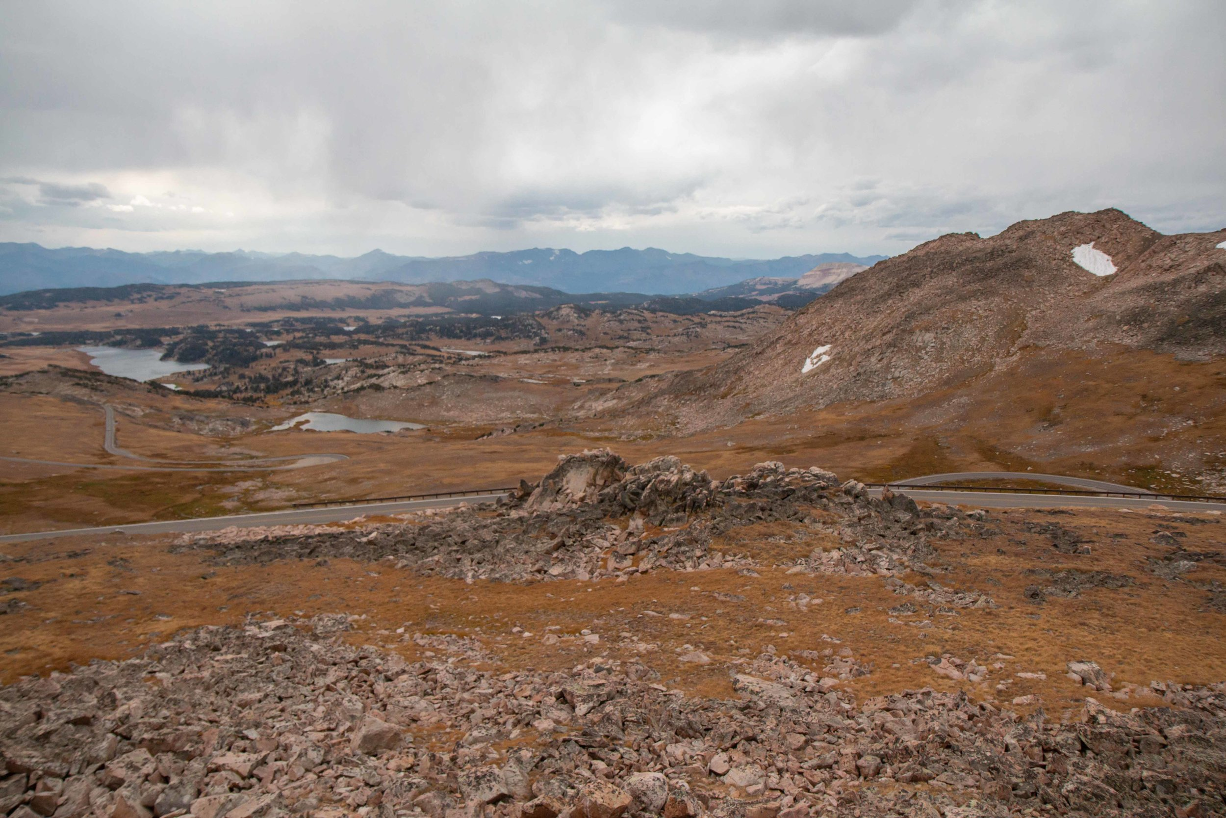 Beartooth Highway and Pass in Montana. Gorgeous scenic views. Visit the top of the world!