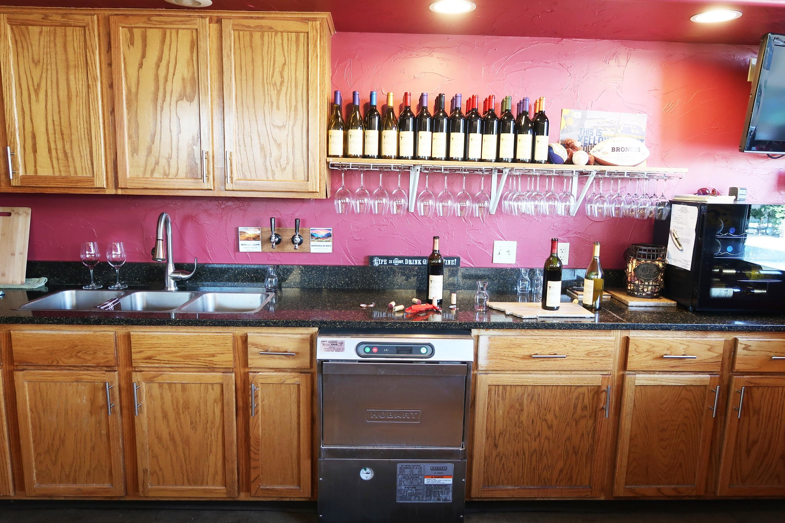 Yellowstone Cellars and Winery in Billings, Montana. The most adorable winery with great wine, food, music, and it's family friendly! A must visit in Billings, MT.