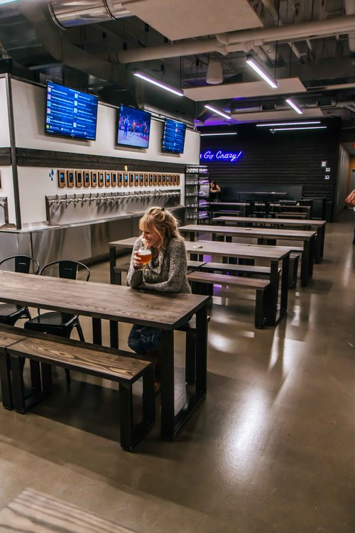 First Draft Taproom & Kitchen. The ultimate brewery tour in downtown Minneapolis, Minnesota