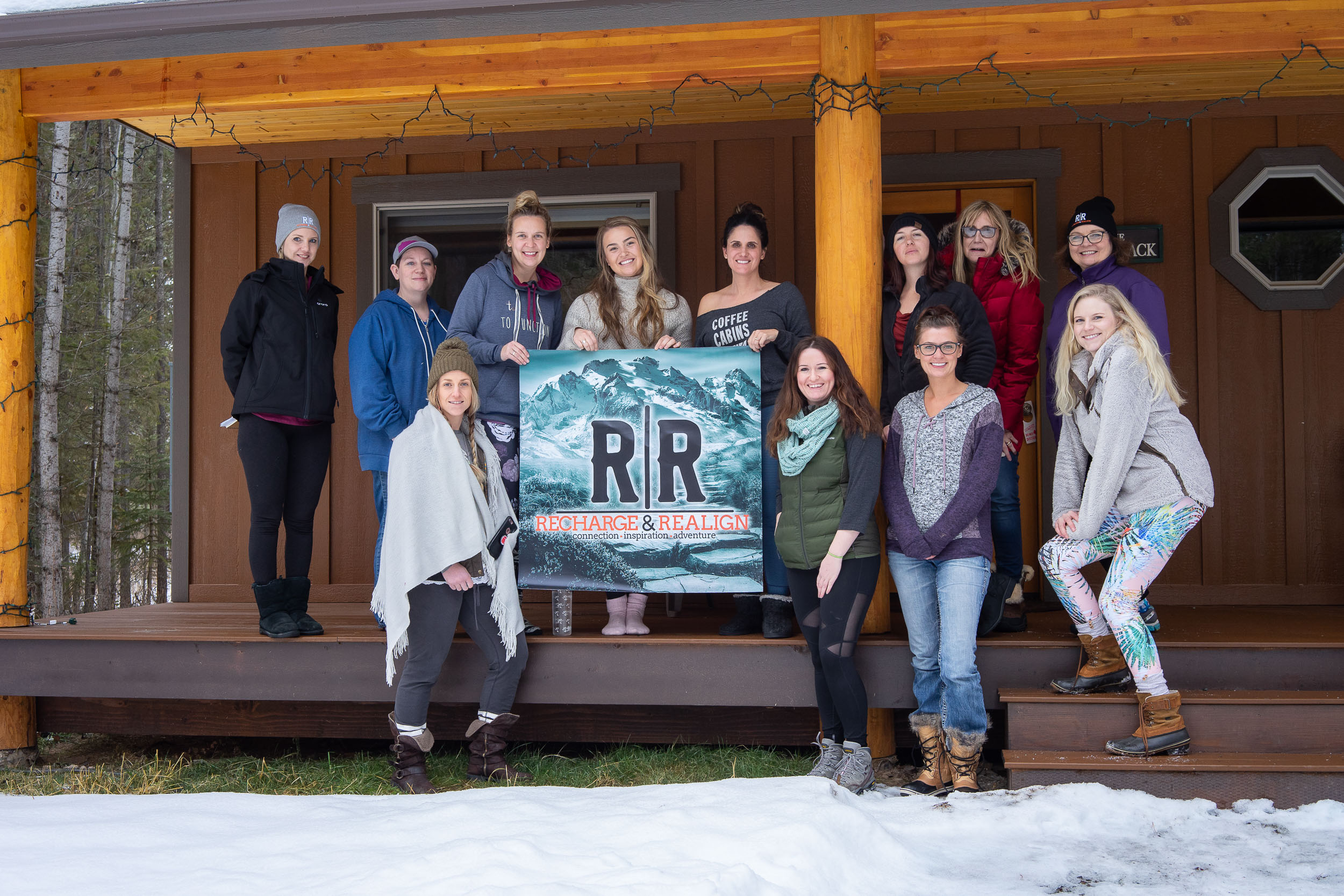 Recharge and realign retreat in Whitefish, Montana. A retreat for strong, independent, business women.
