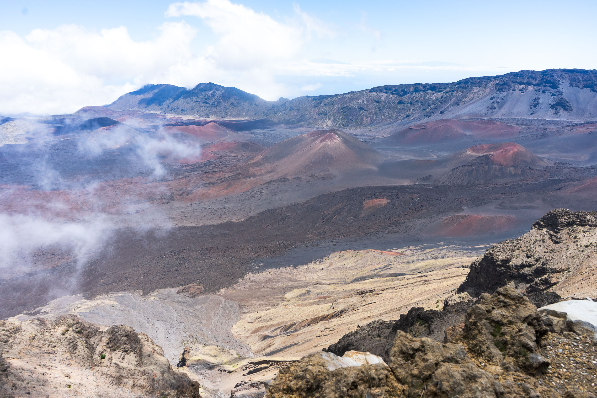 Haleakala National Park in Hawaii. Tips, tricks, and things to do in Maui, Hawaii. The ultimate travel guide along with rare, locals only secrets