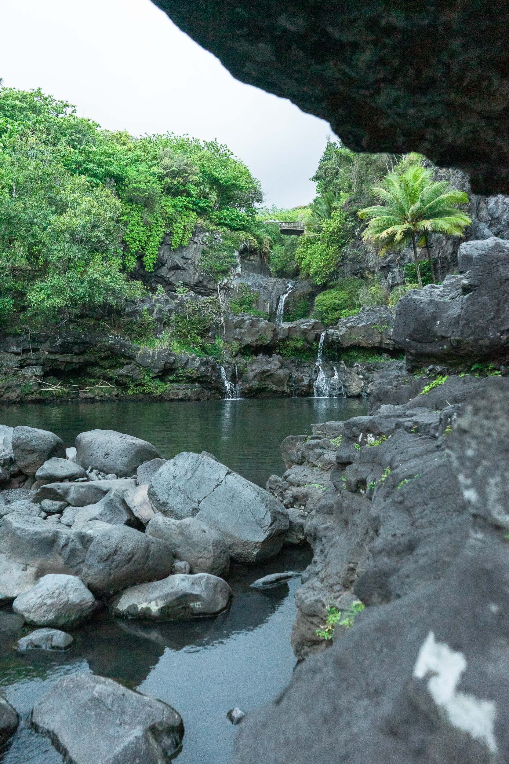 The 7 Sacred Pools on The Road to Hana. Tips, tricks, and things to do in Maui, Hawaii. The ultimate travel guide along with rare, locals only secrets