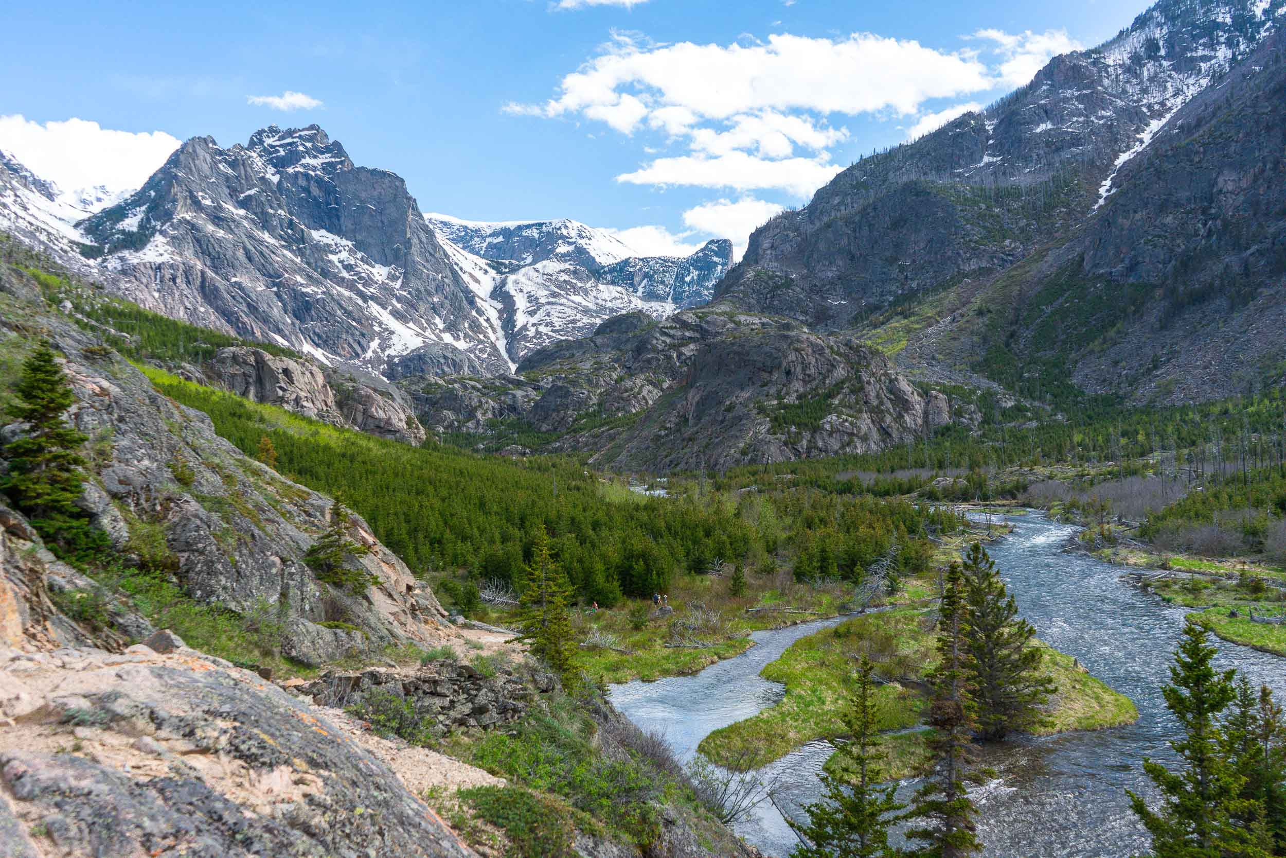 Beautiful hikes in the Beartooth Mountains