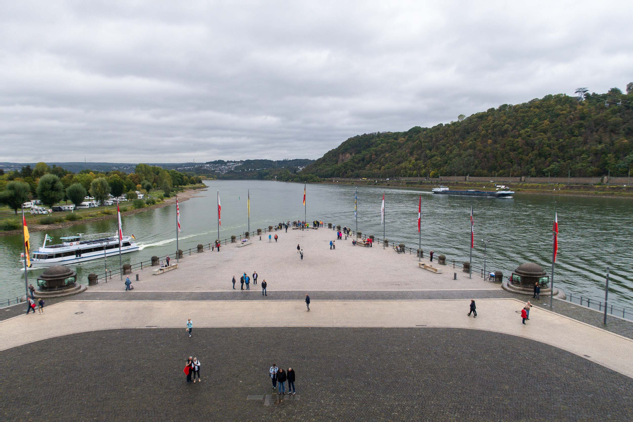 What to see in Koblenz, Germany - a city with a long history.