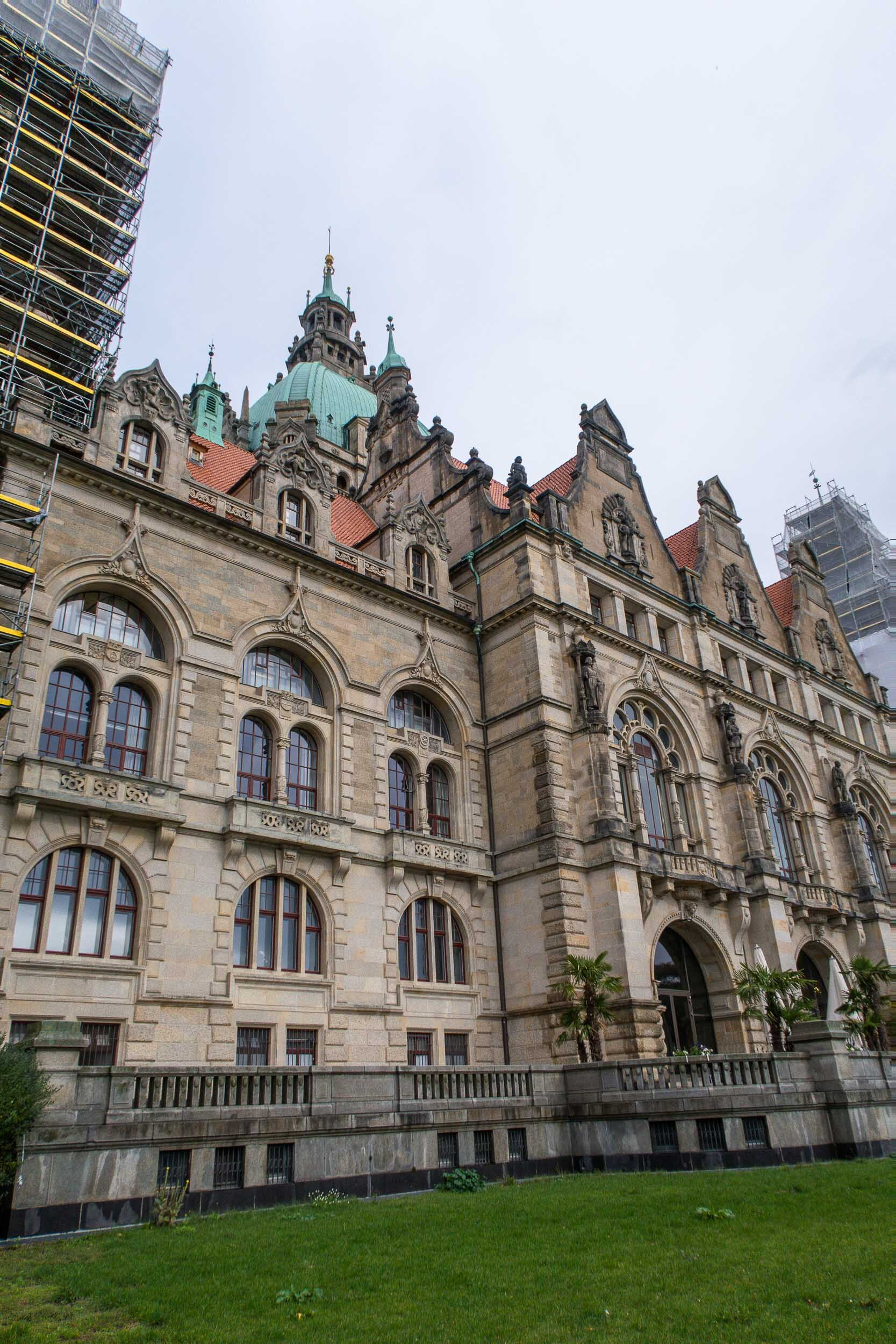 The magnificent New Town Hall in Hannover, Germany. One of the most photographable cities in Bulgaria