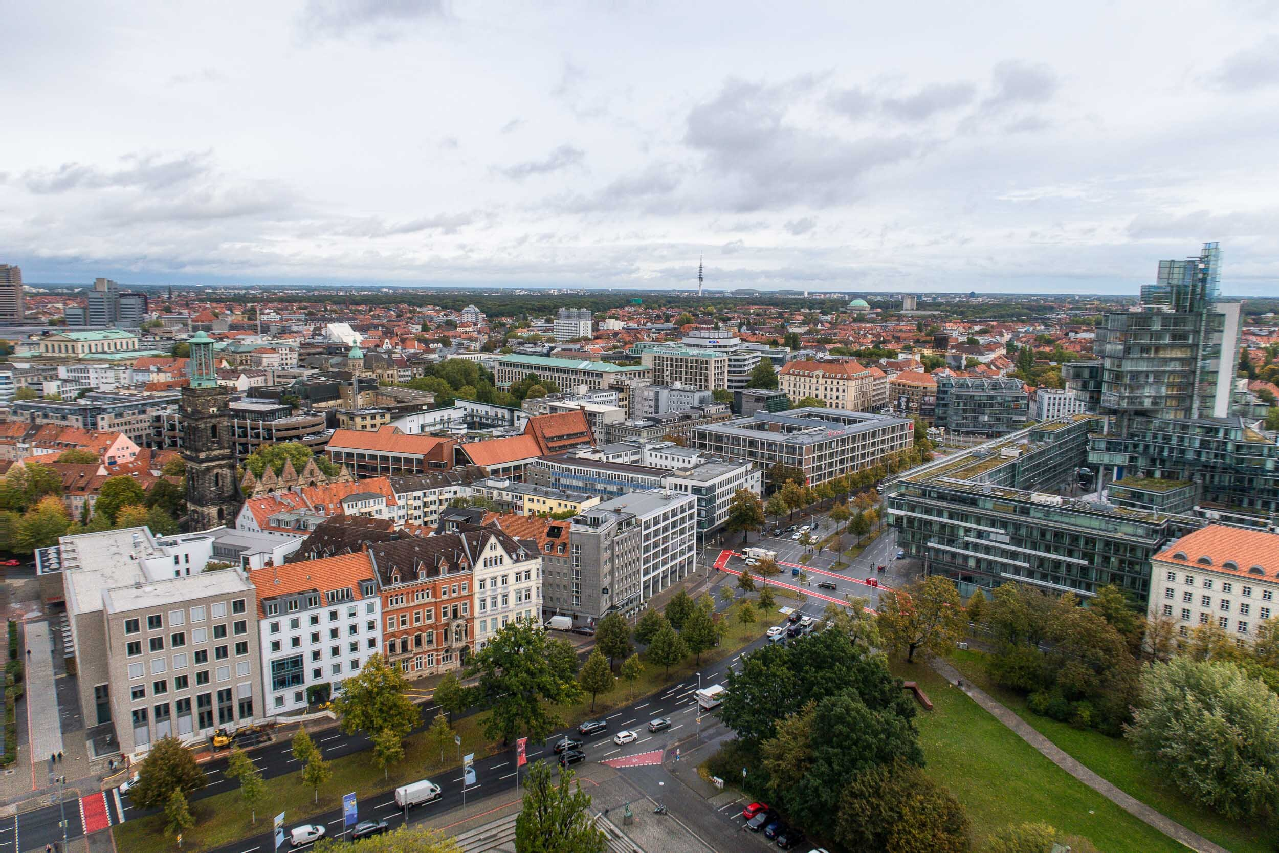 Epic views in Hannover, Germany