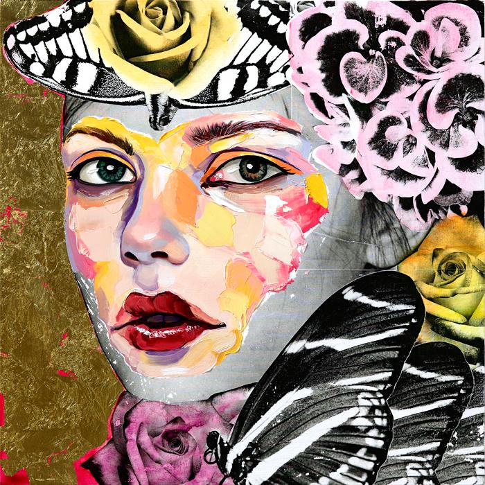 AM DeBrincat Chrysalis oil painting