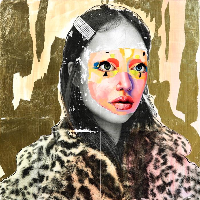 AM DeBrincat In Watermelon Fur oil painting