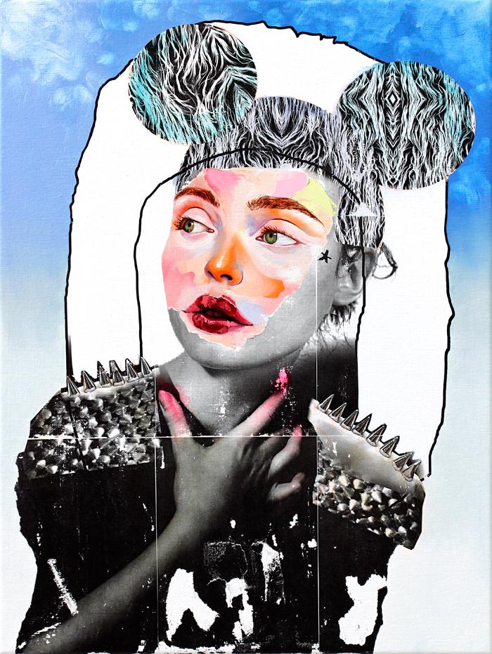 AM DeBrincat Sky Mind oil painting on canvas