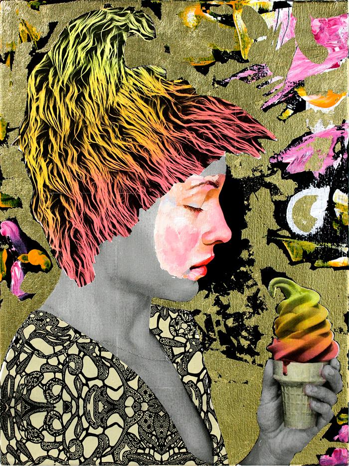 AM DeBrincat Sugar Dream oil painting ice cream